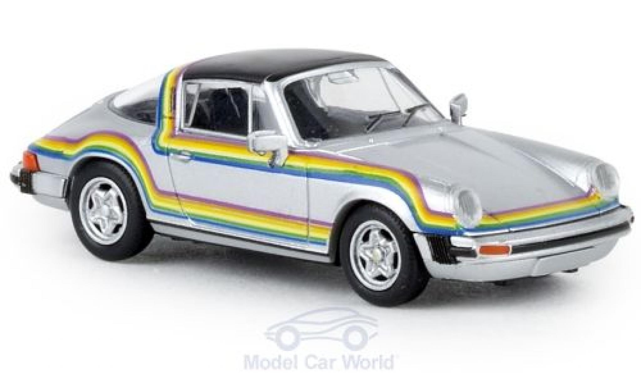 Porsche 911 1/87 Brekina G Targa Rainbow 1976 TD
