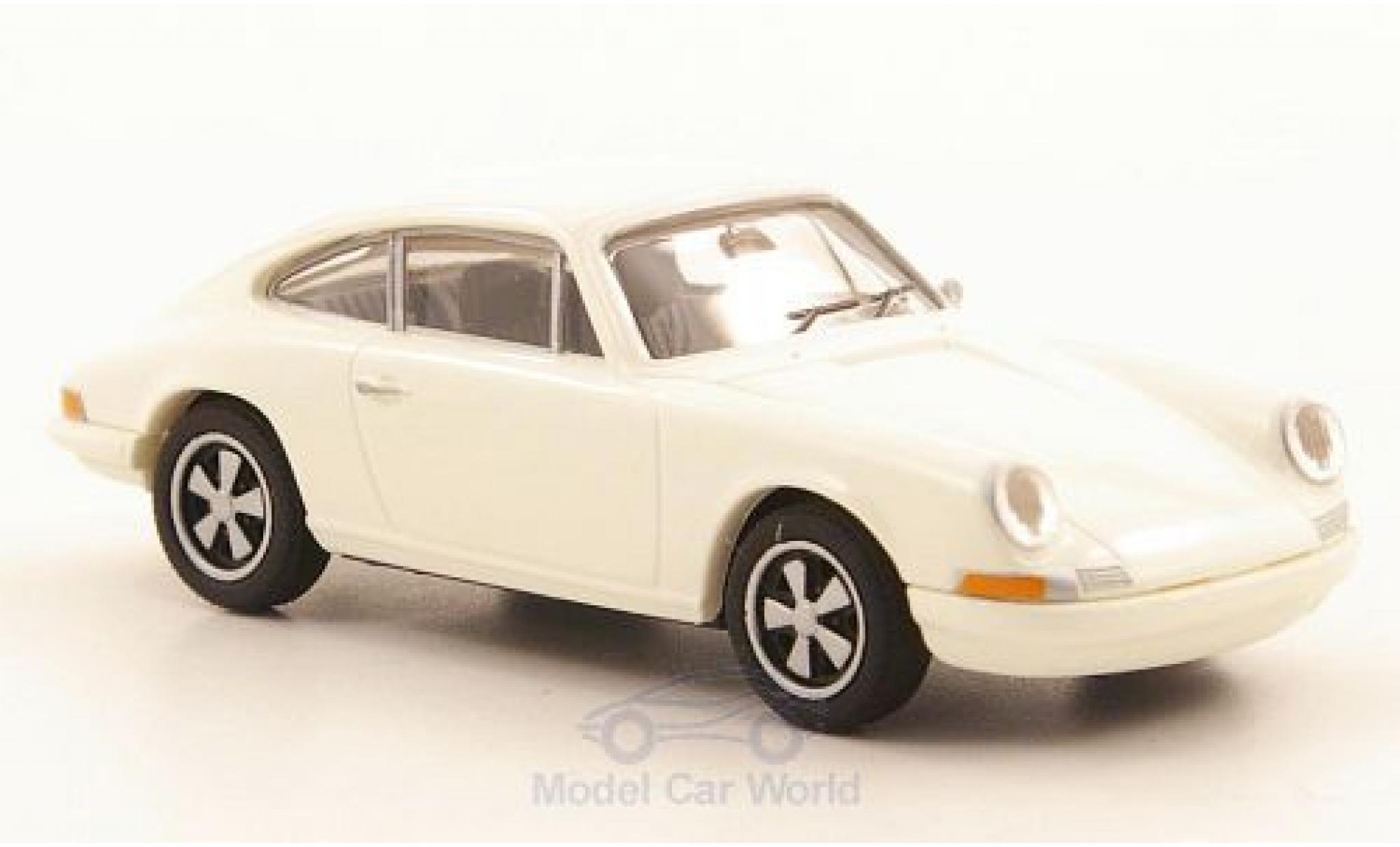 Porsche 911 1/87 Brekina R white