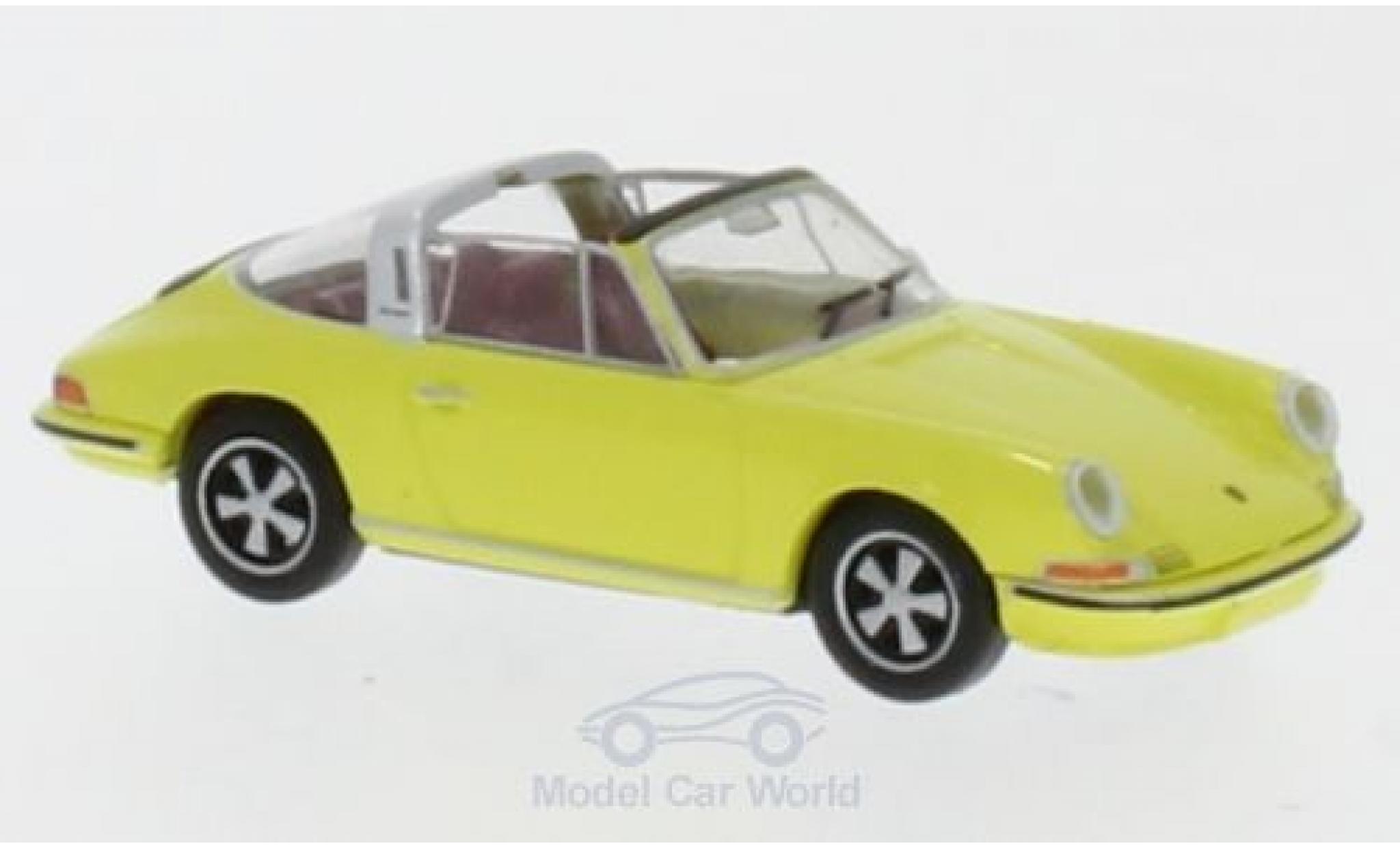 Porsche 911 Targa 1/87 Brekina jaune