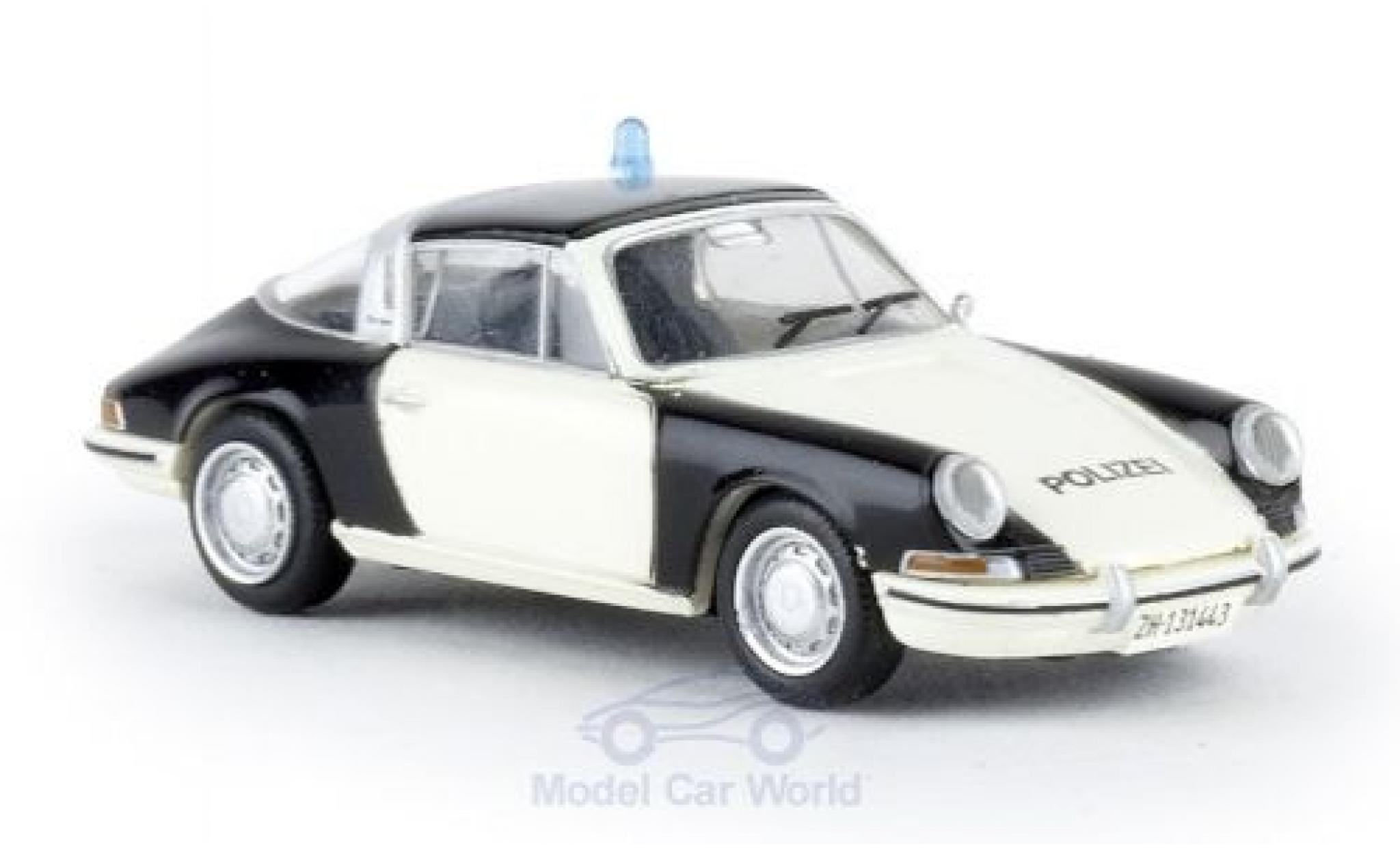Porsche 911 1/87 Brekina Targa Polizei Zürich ohne Vitrine