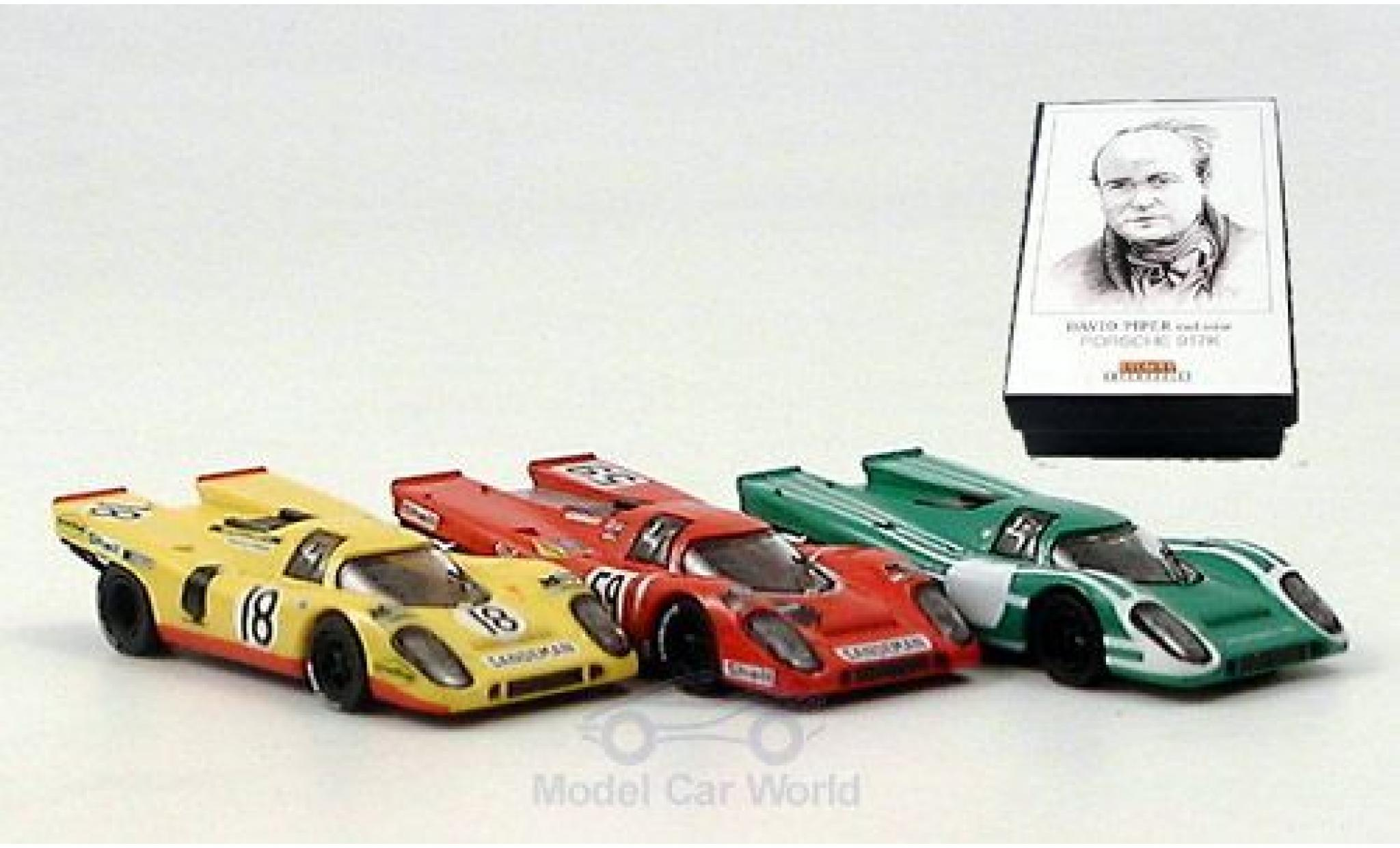 Porsche 917 1/87 Brekina K 3er-Set D.Piper