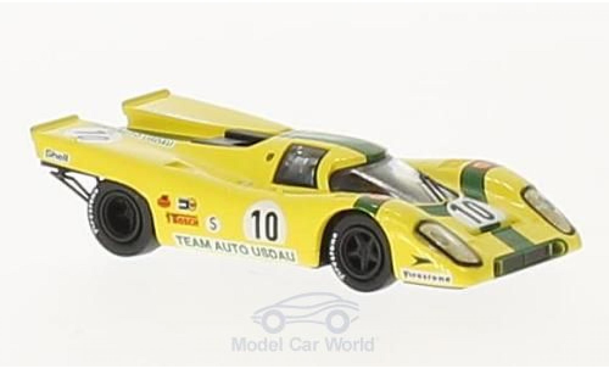 Porsche 917 1971 1/87 Brekina K No.10 Team Auto Usdau 1000 Km Brands Hatch R.Joest/W.Kauhsen