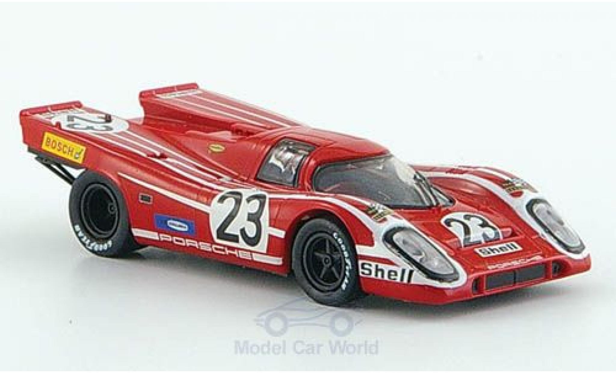 Porsche 917 K 1/87 Brekina K No.23 24h Le Mans 1970