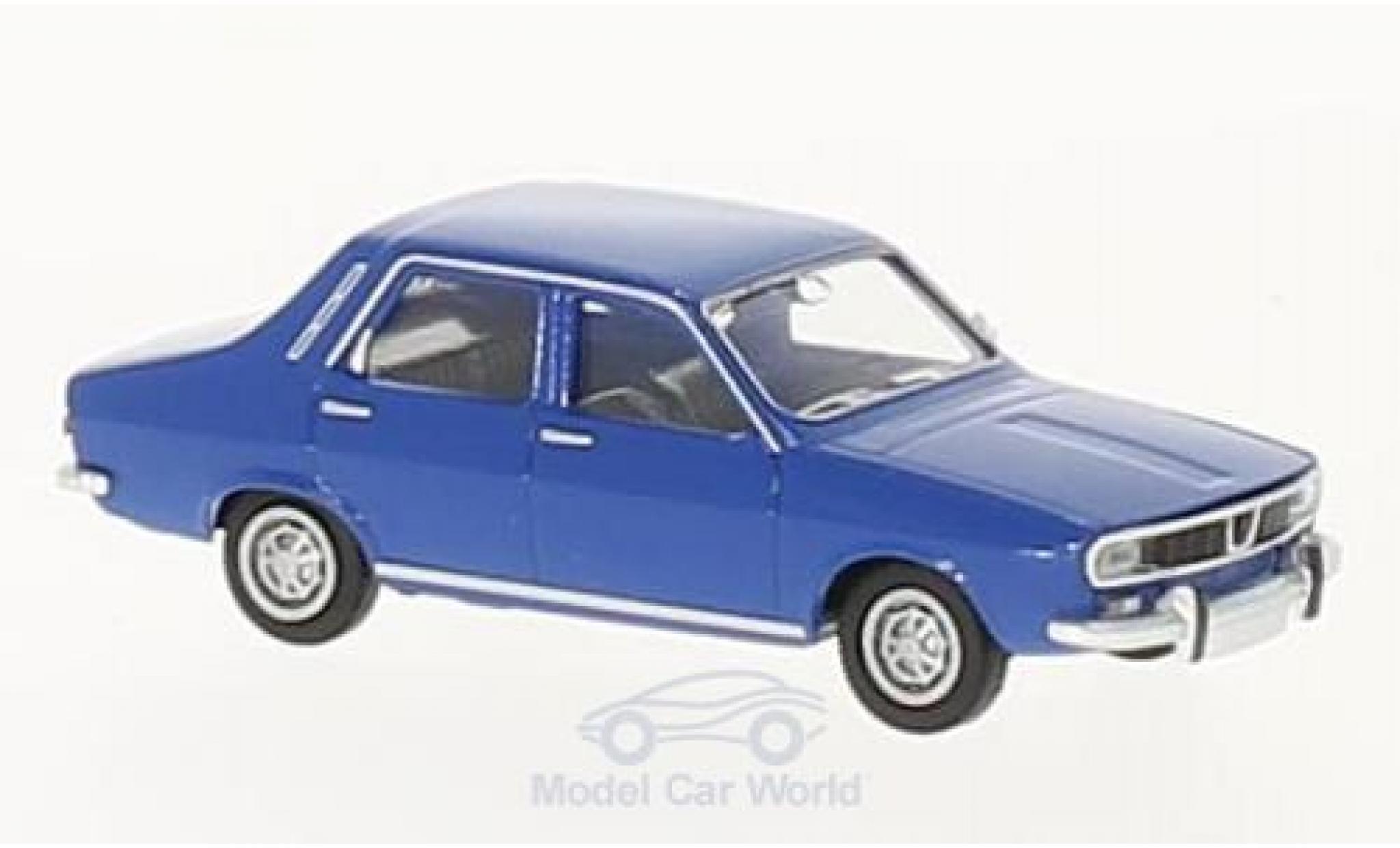Renault 12 TL 1/87 Brekina TL bleue