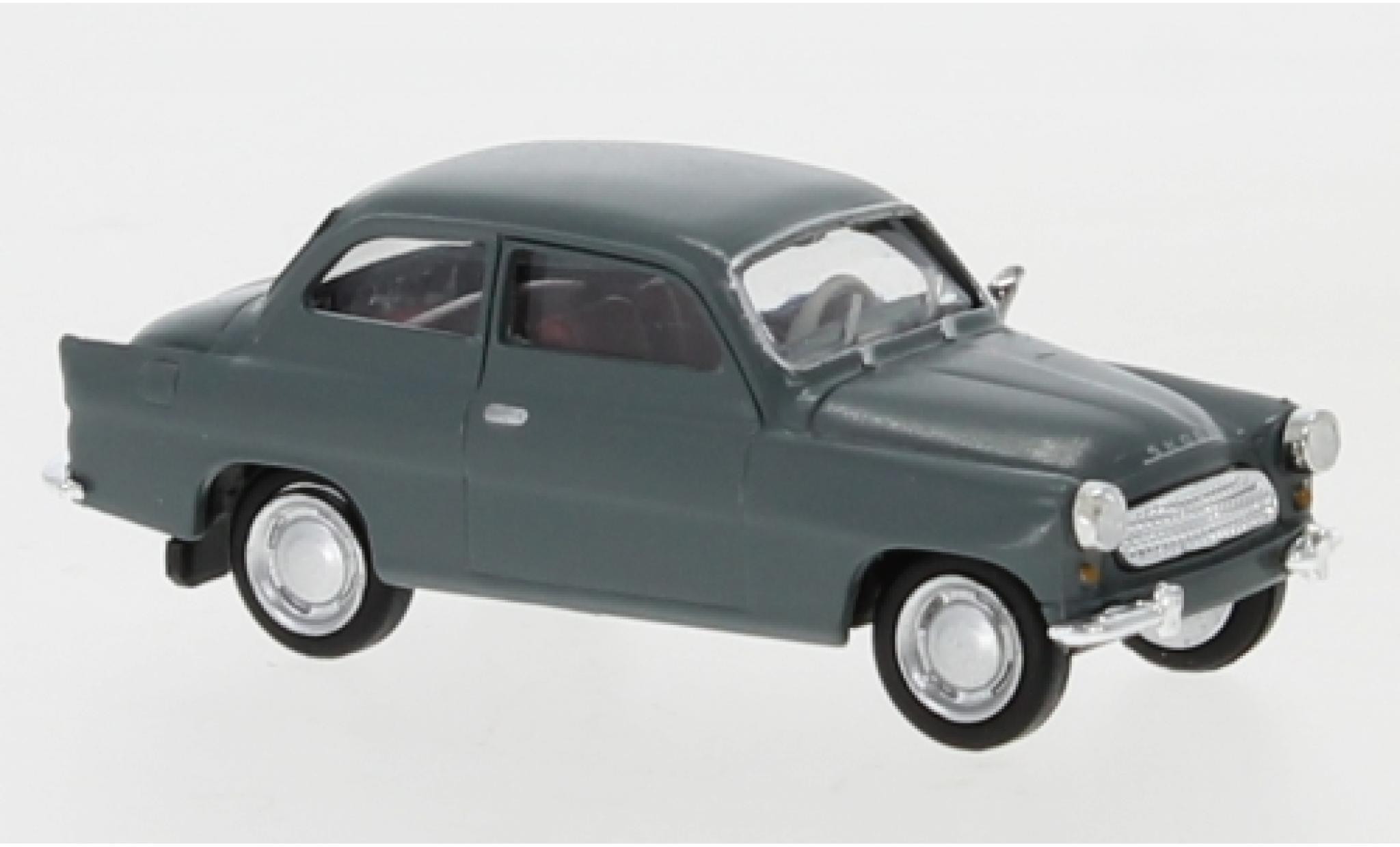 Skoda Octavia 1/87 Brekina grey 1960