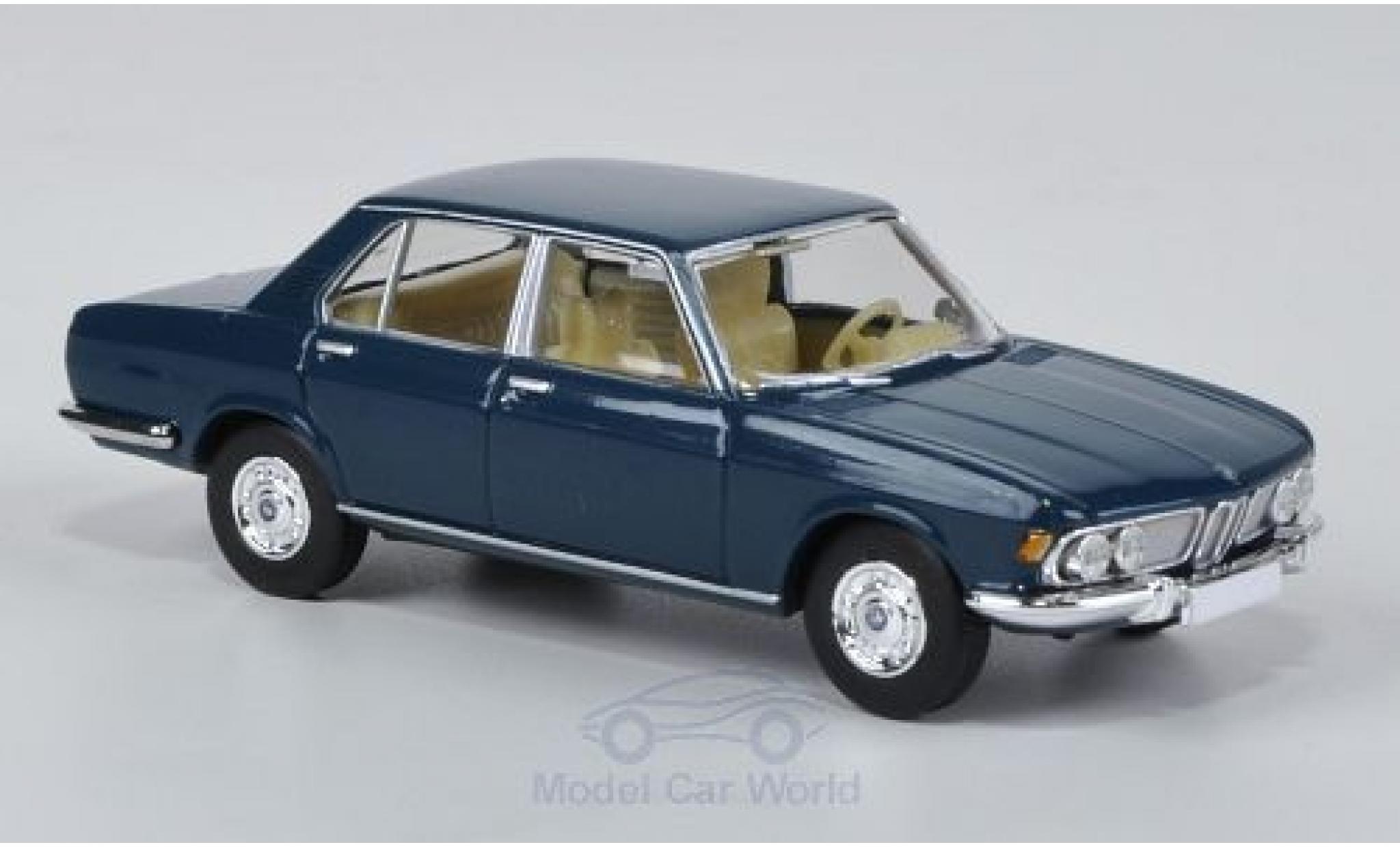 Bmw 2500 1/87 Brekina bleue