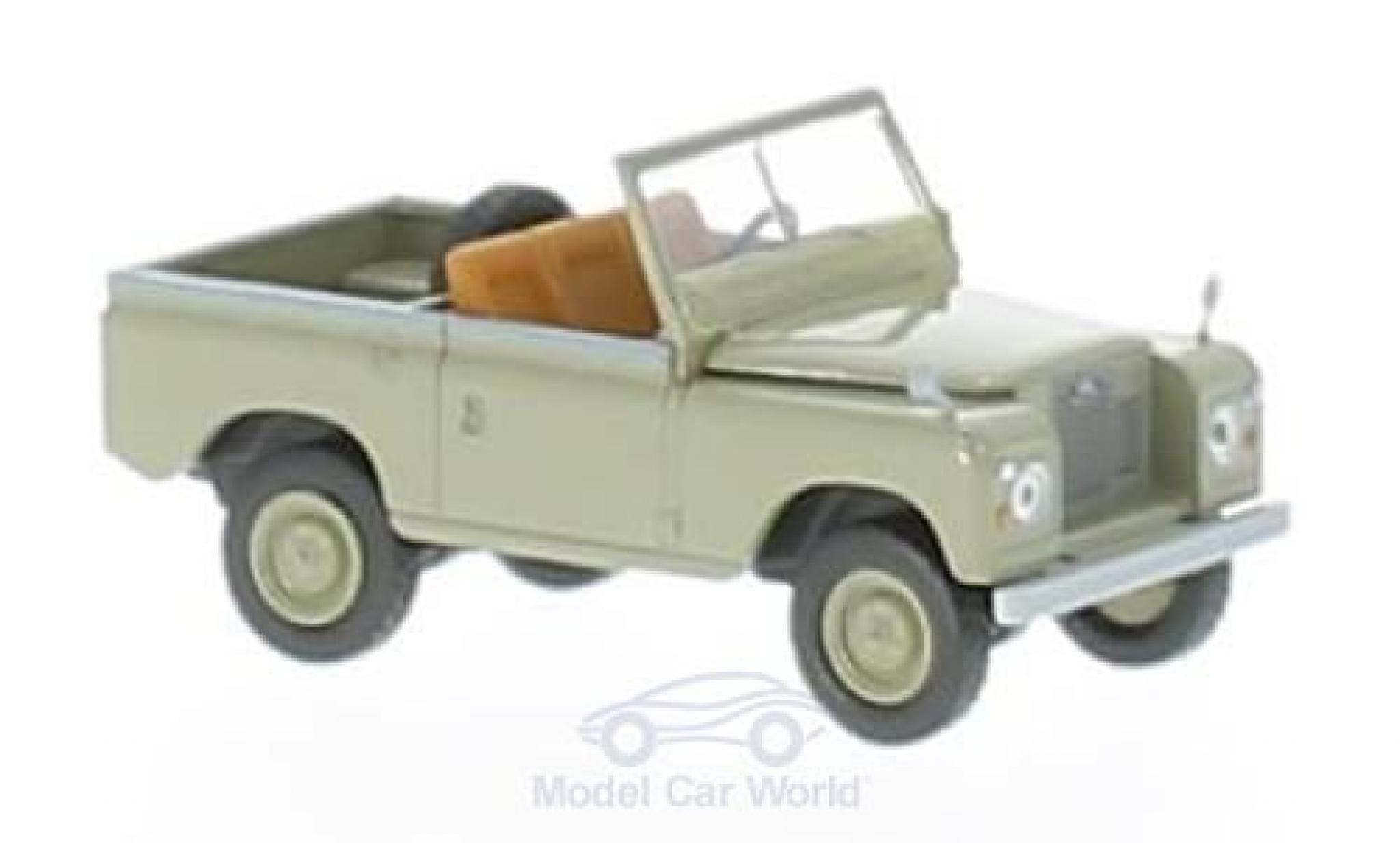 Land Rover 88 1/18 Brekina Starmada grise