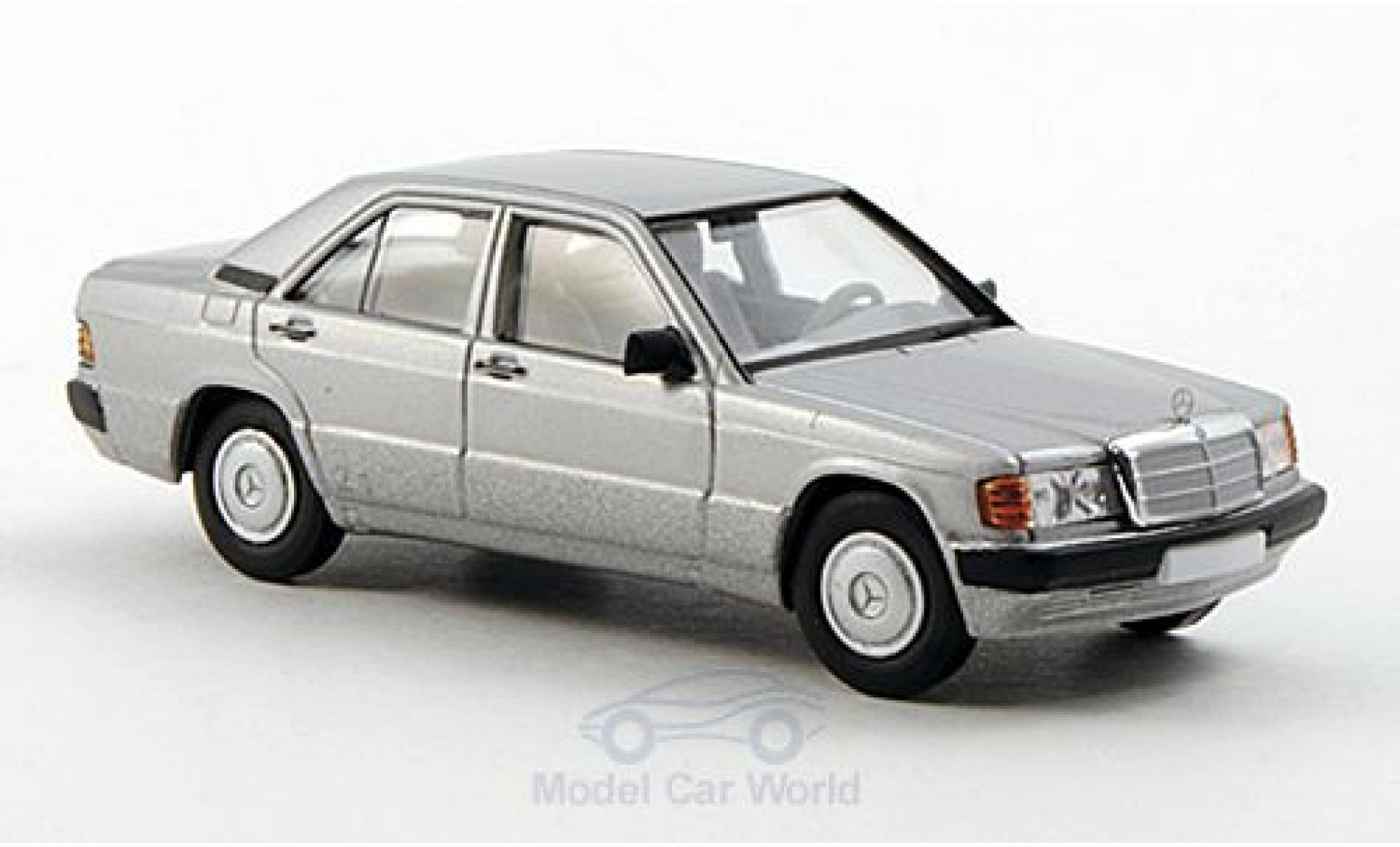 Mercedes 190 E 1/87 Brekina (W201) grise