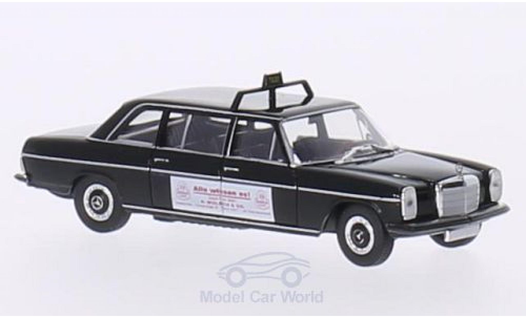 Mercedes 220 1/87 Brekina Starmada D Lang (V115) noire Taxi (D) / Wulsch