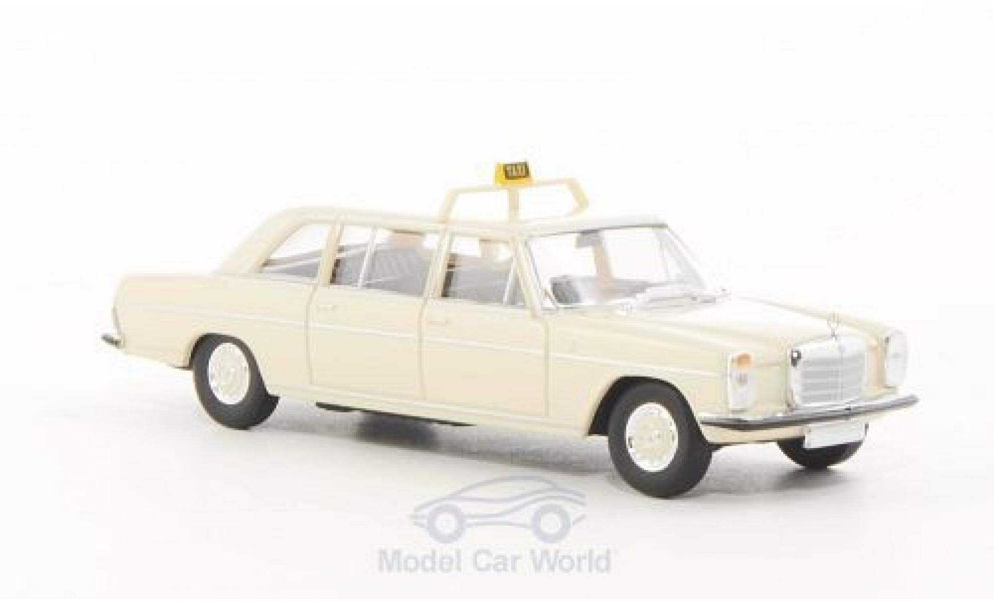 Mercedes 220 1/87 Brekina D lang (V115) Taxi (D)