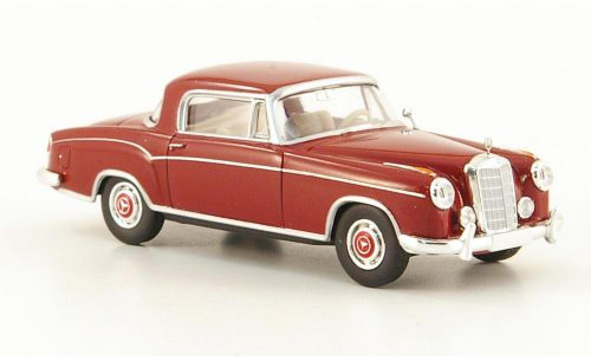 Mercedes 220 1/87 Brekina Starmada S Coupe (W180 II) rouge