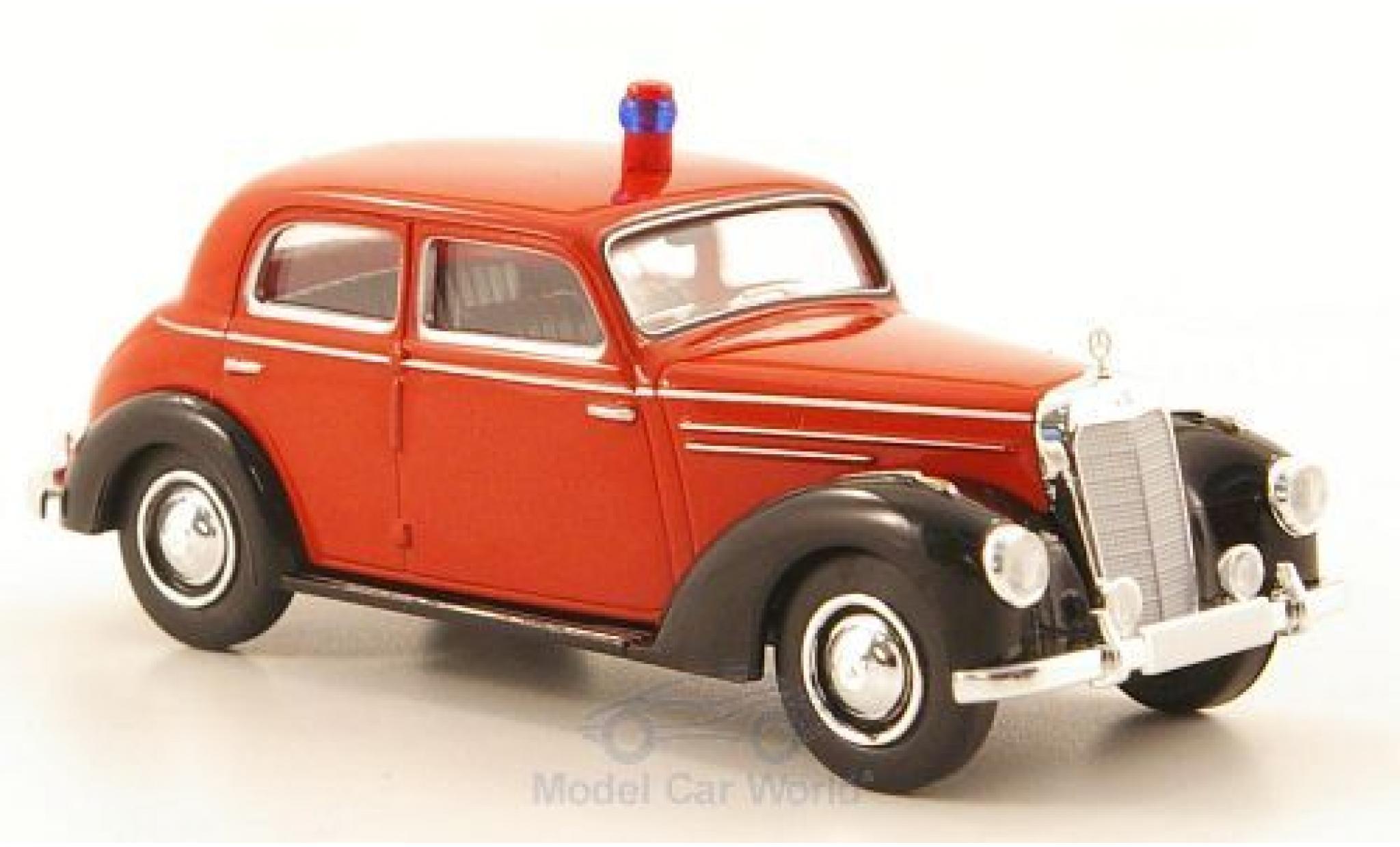 Mercedes 220 1/87 Brekina (W187) Feuerwehr