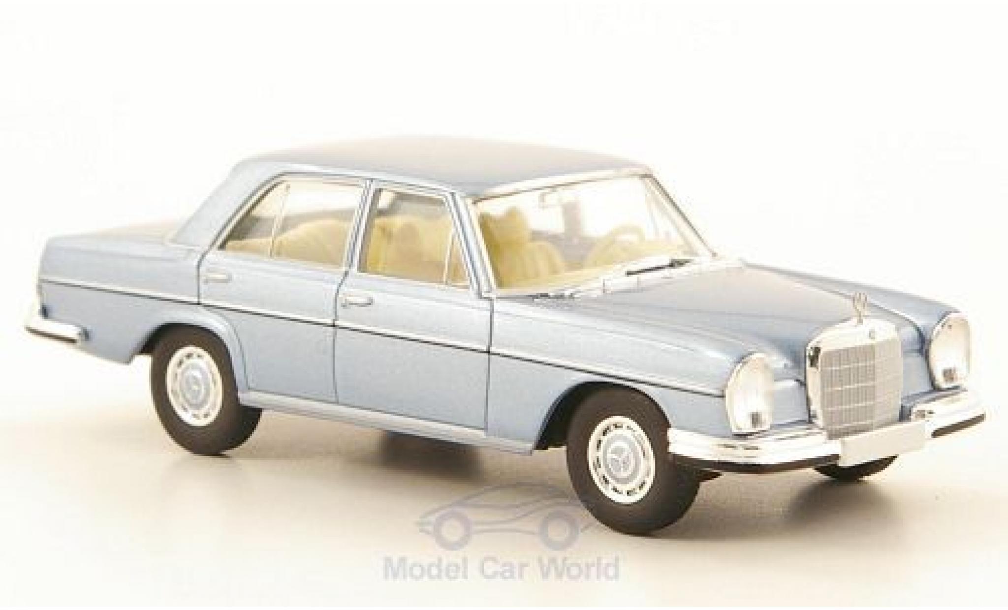 Mercedes 280 SE 1/87 Brekina Starmada SE 3.5 (W108) metallic-hellbleue