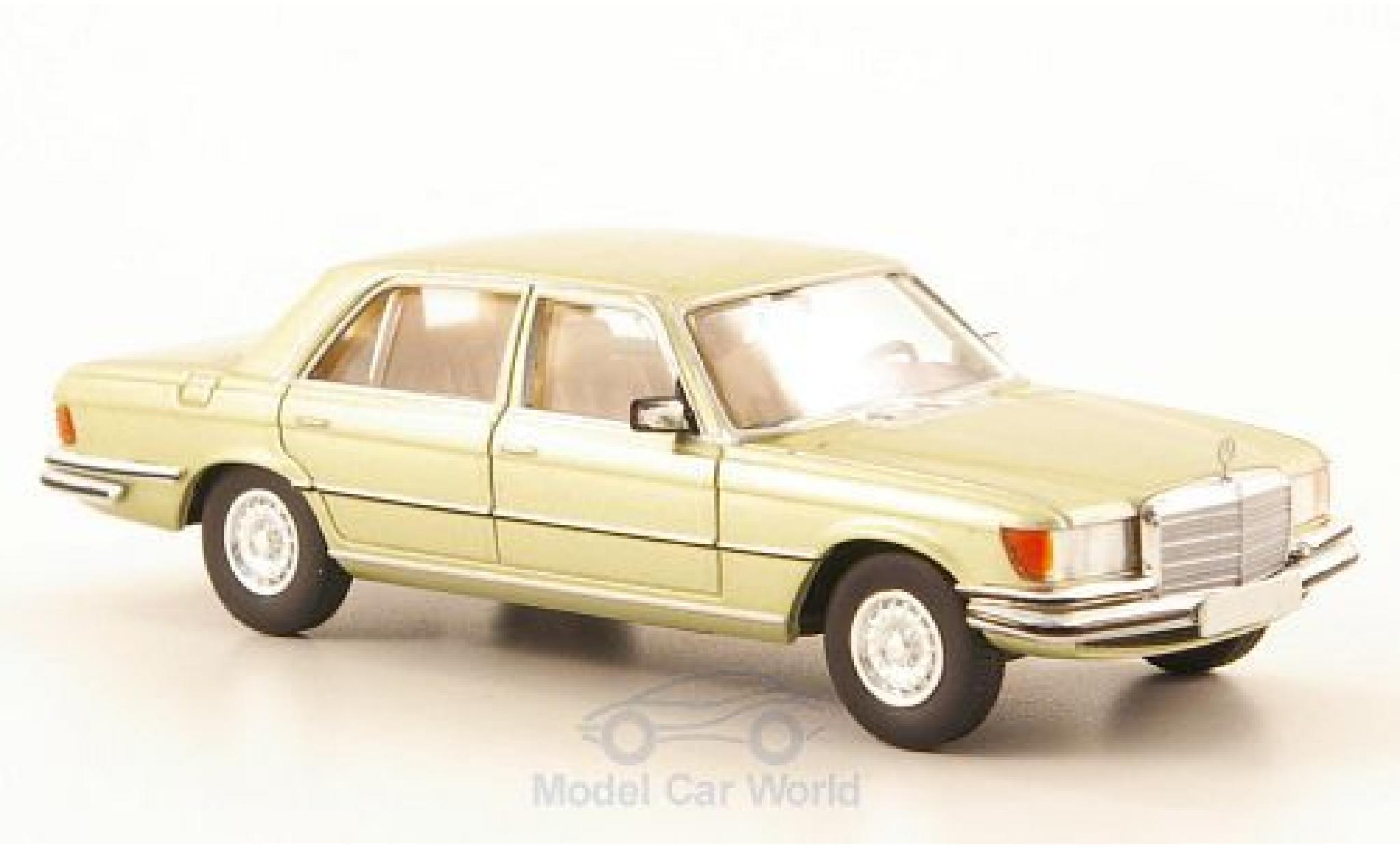 Mercedes 450 SEL 1/87 Brekina Starmada SEL (W116) metallic-hellgrün
