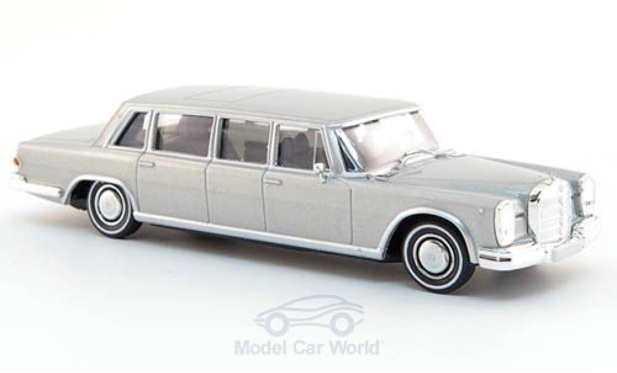 Mercedes 600 1/87 Brekina Pullman Limousine grey