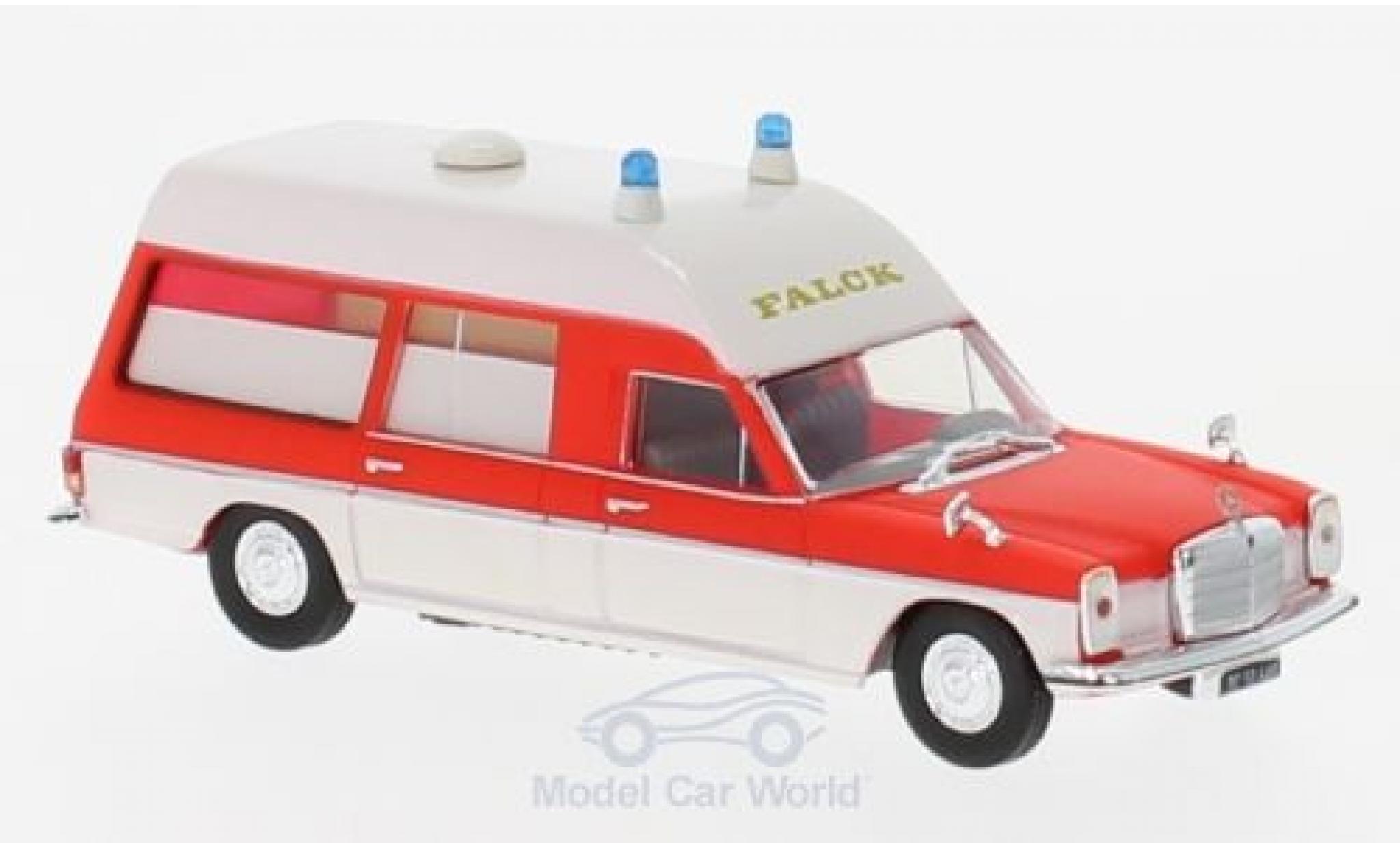 Mercedes /8 1/87 Brekina KTW Falck