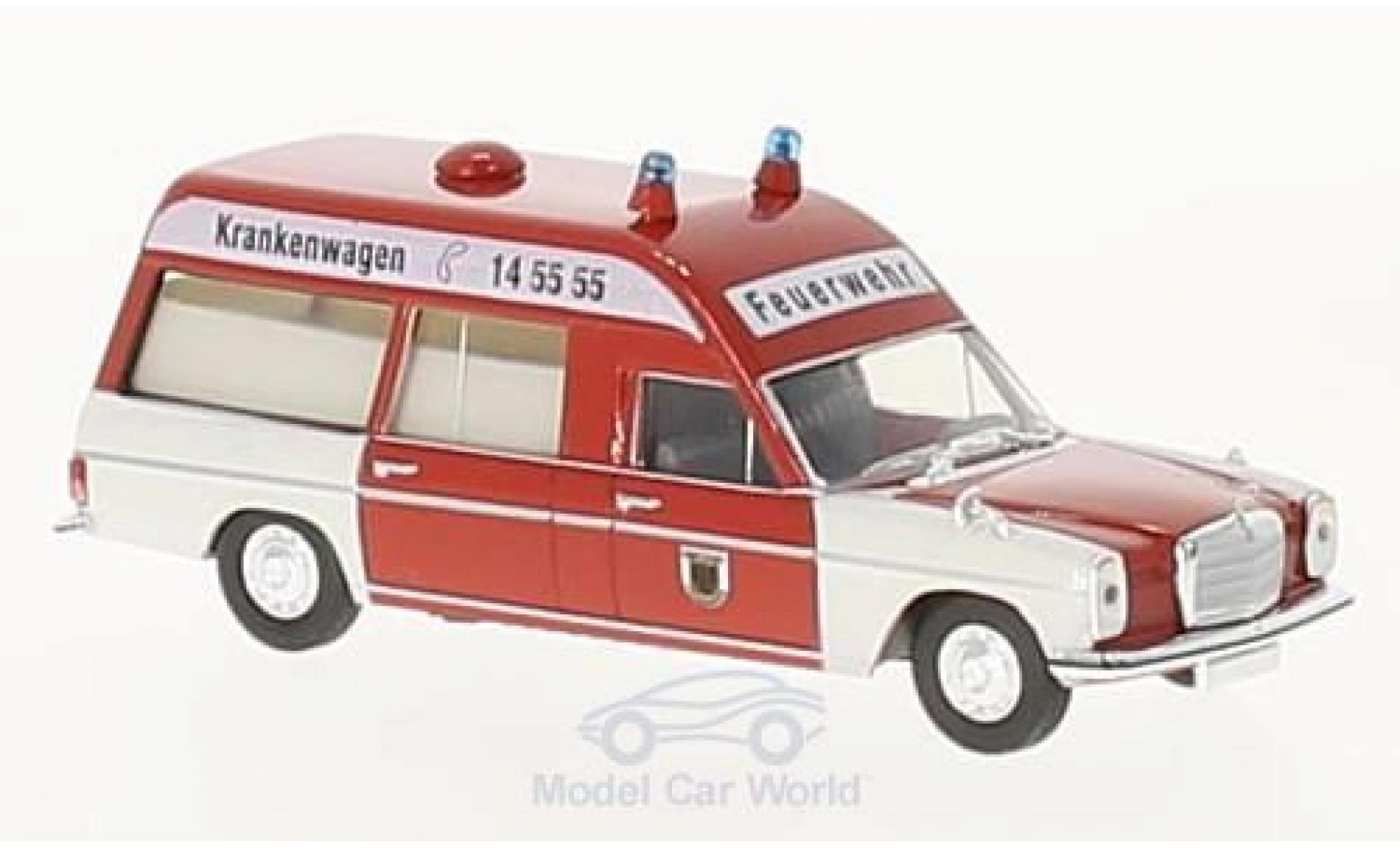 Mercedes /8 1/87 Brekina KTW Feuerwehr Dortmund