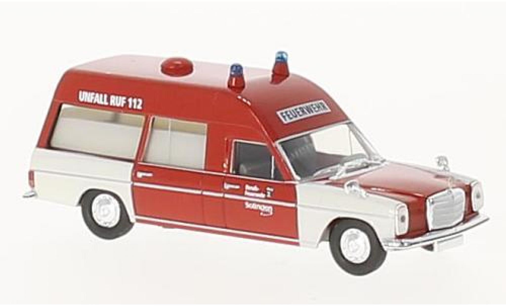 Mercedes /8 1/87 Brekina KTW Feuerwehr Solingen