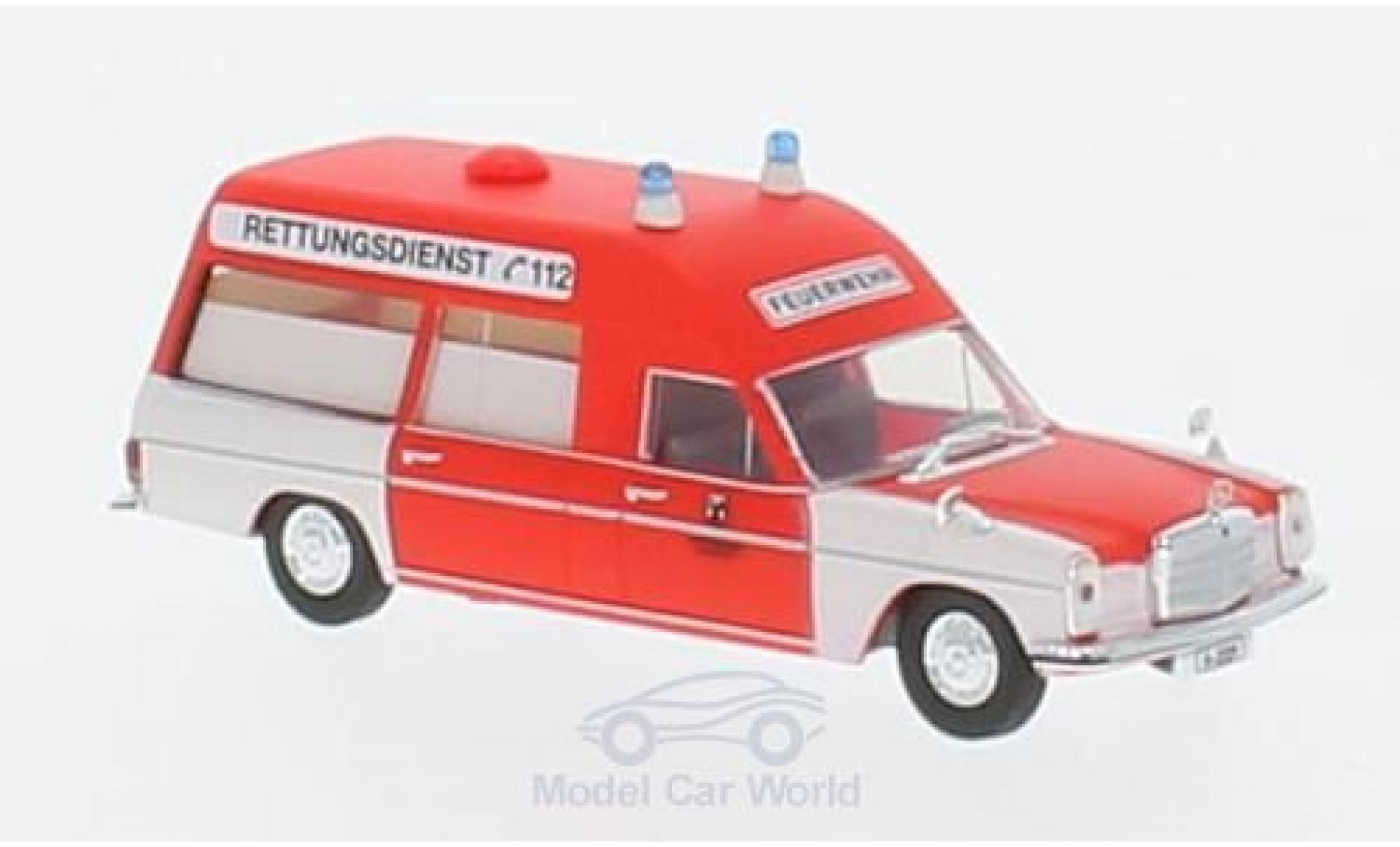 Mercedes /8 1/87 Brekina KTW FW Hannover 2229