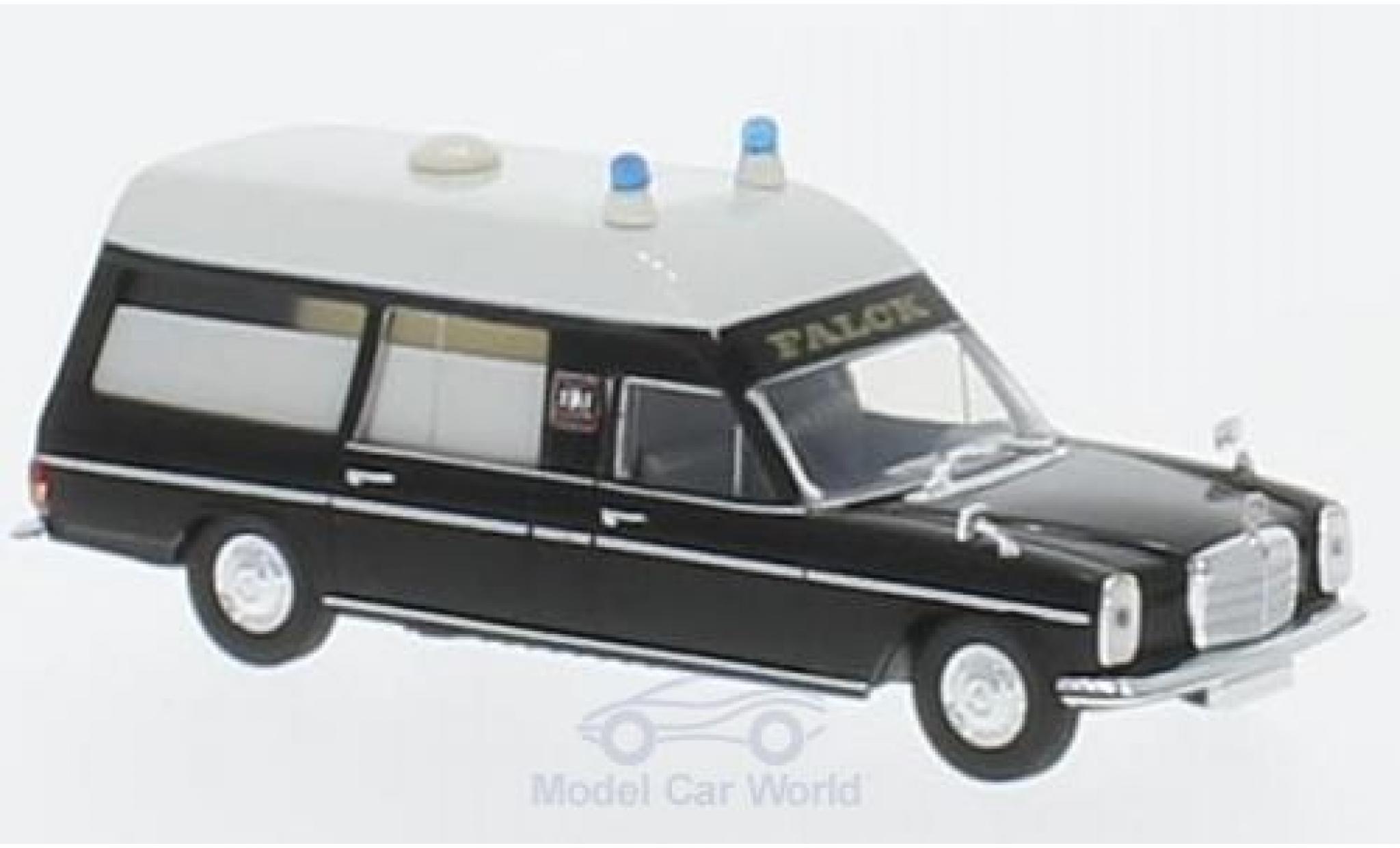 Mercedes /8 1/87 Brekina Starmada KTW noire/blanche Falck