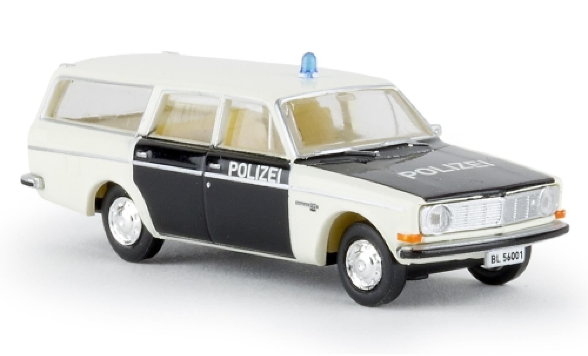 Volvo 145 1/87 Brekina Kombi Polizei Baselland camionnette sans Vitrine