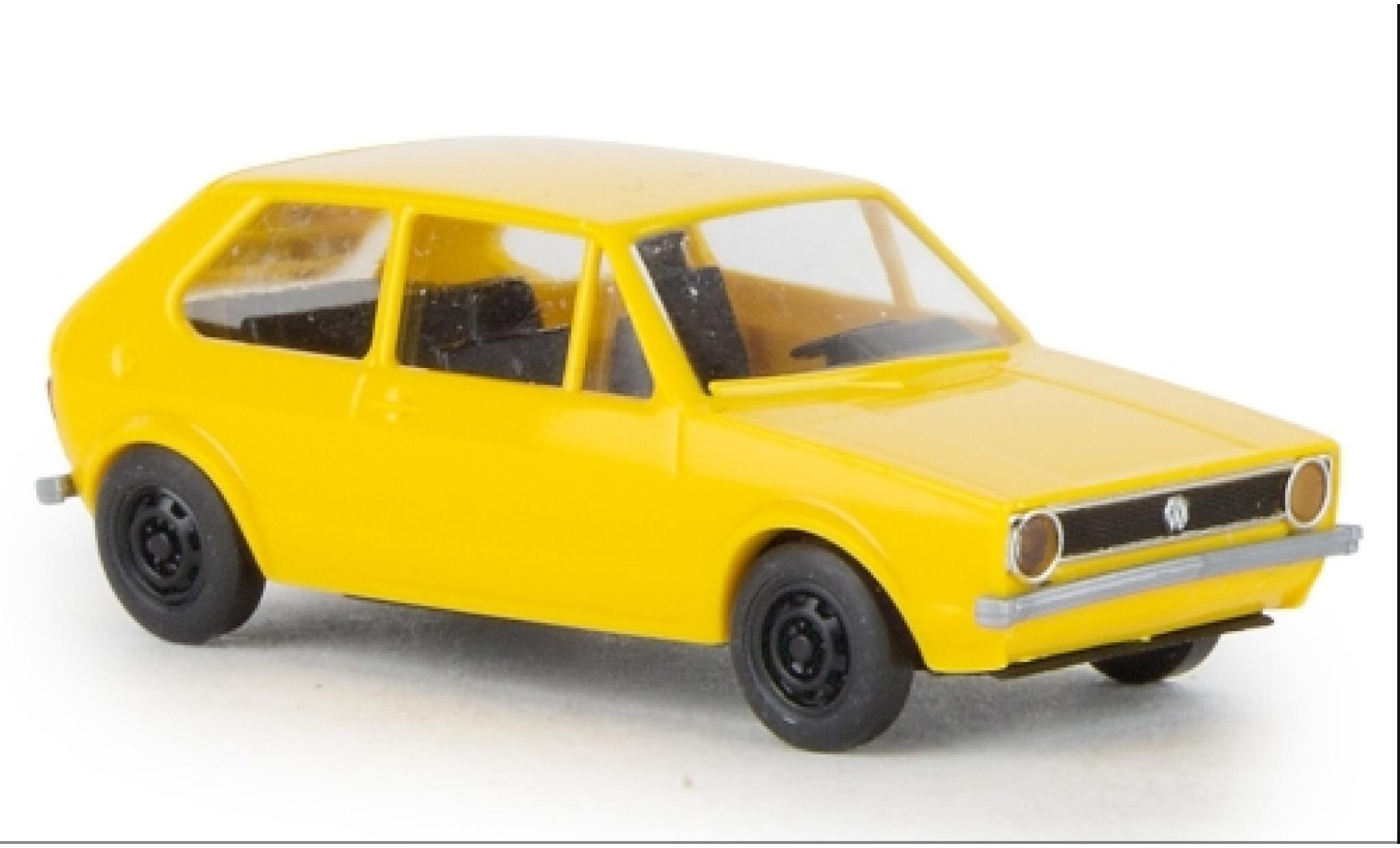 Volkswagen Golf 1/87 Brekina I jaune 1974