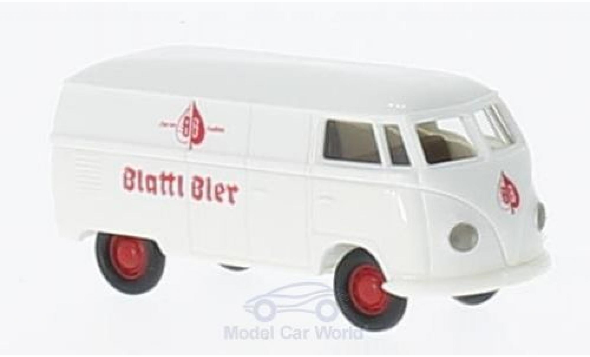 Volkswagen T1 B 1/87 Brekina a lattl ier Kasten