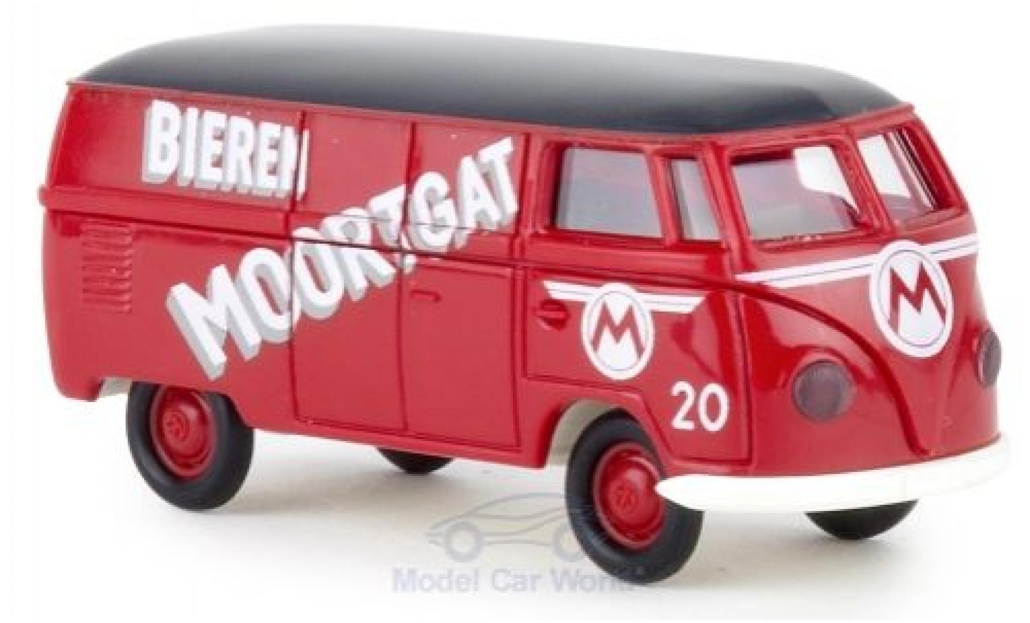 Volkswagen T1 1/87 Brekina a Kasten Bieren Moortgat