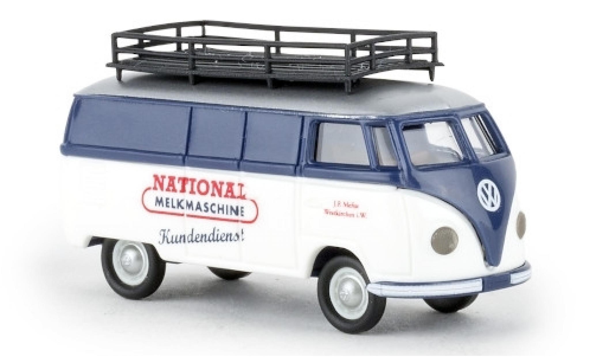 Volkswagen T1 1/87 Brekina a Kasten National Melkmaschine 1951