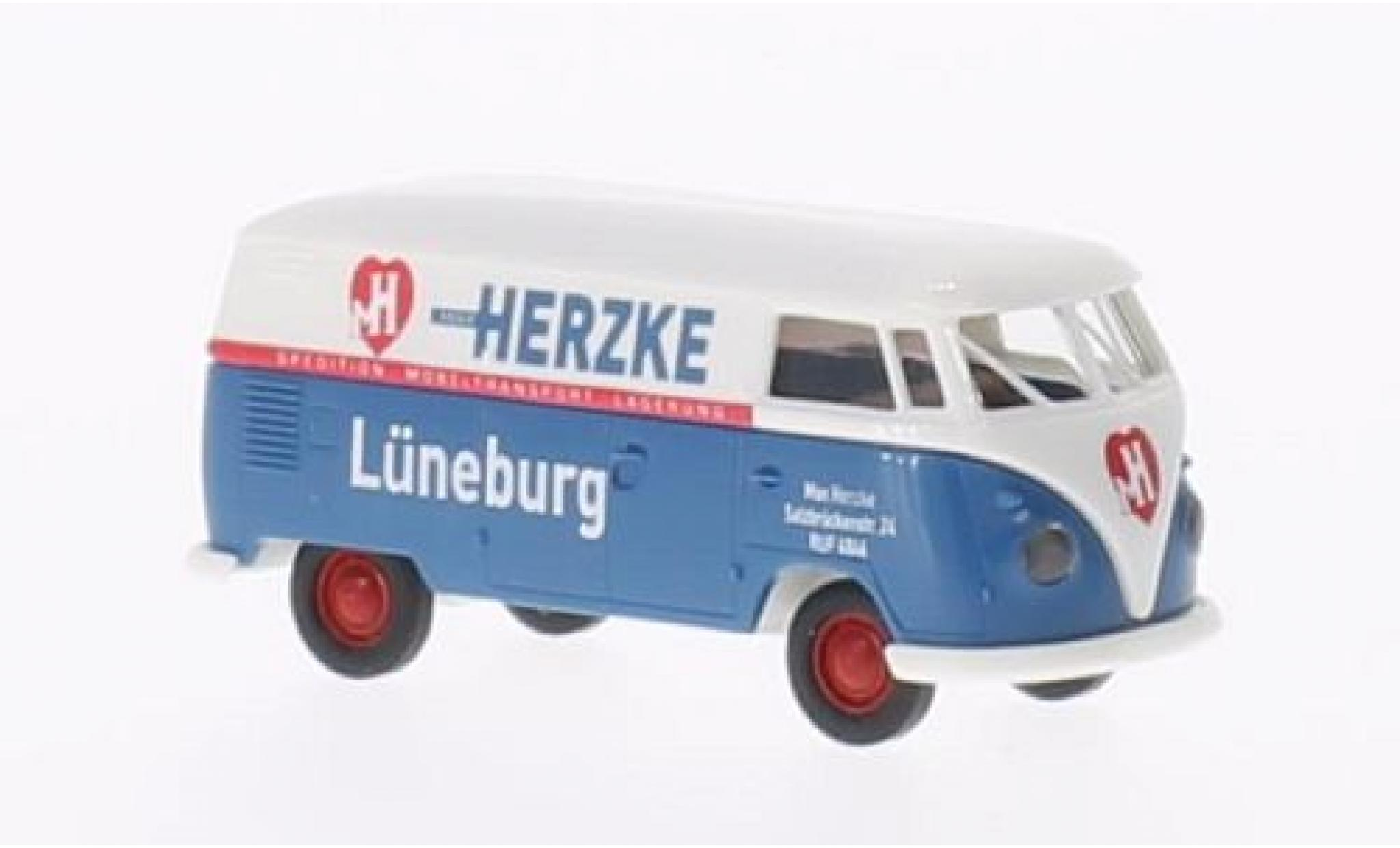 Volkswagen T1 1/87 Brekina a Max Herzke fourgon