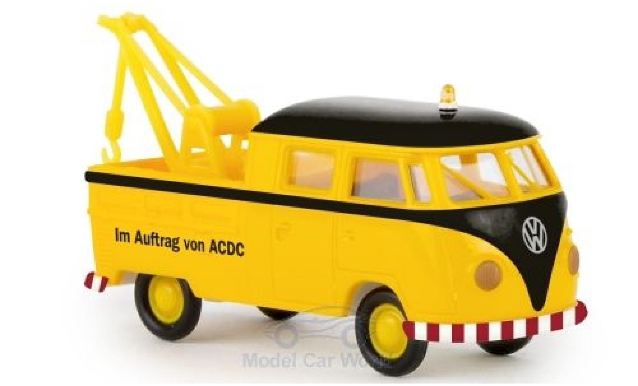 Volkswagen T1 1/87 Brekina b Doka Im Auftrag von ACDC 1960 Abschleppwagen