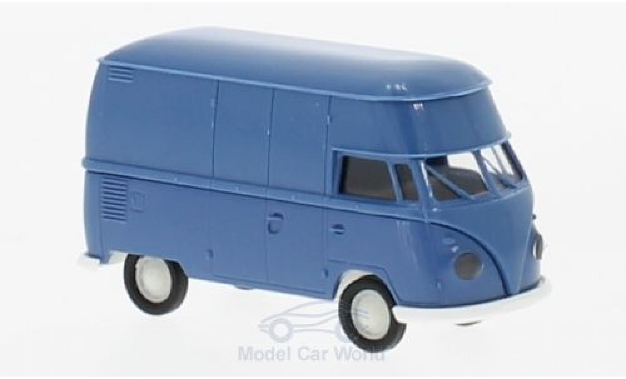 Volkswagen T1 B 1/87 Brekina b Hochdach-Kasten bleue