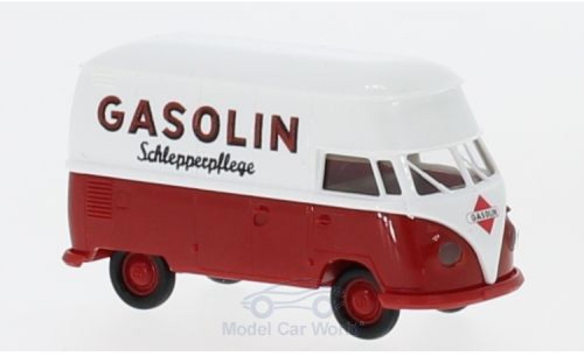 Volkswagen T1 B 1/87 Brekina b Hochdach-Kasten Gasolin Schlepperpflege