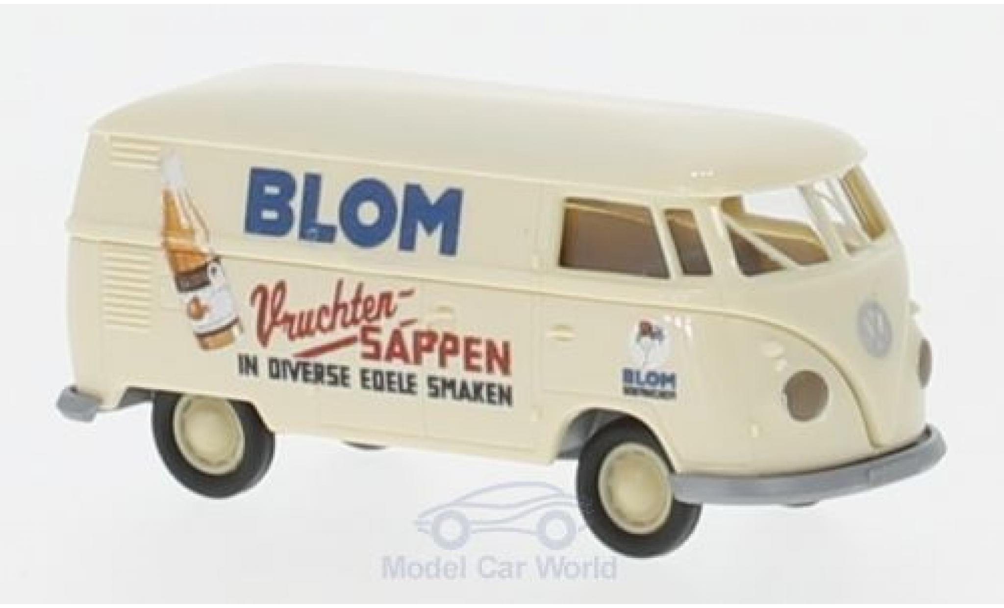 Volkswagen T1 B 1/87 Brekina b Kasten Bloom Vruchten Sappen