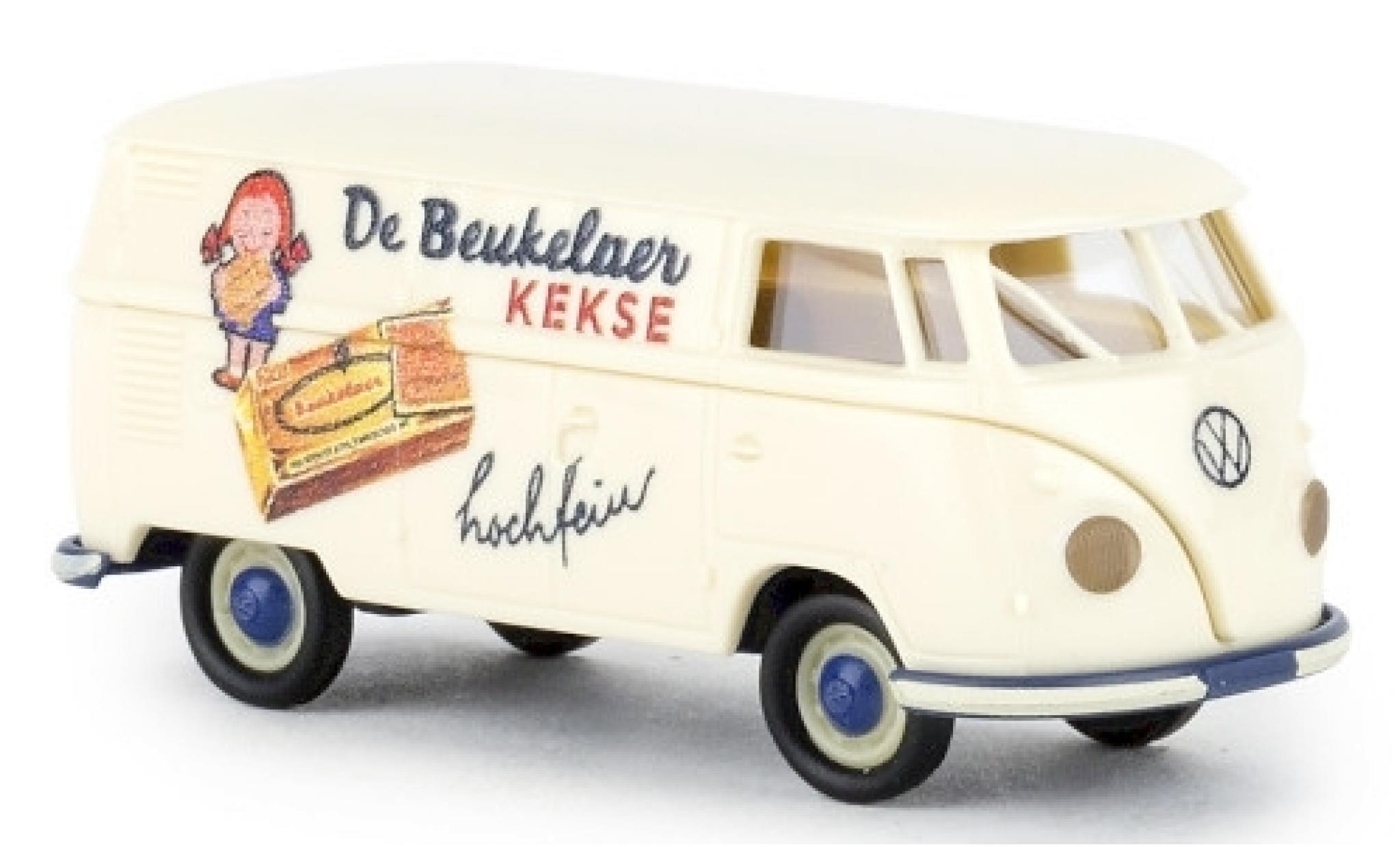 Volkswagen T1 1/87 Brekina b Kasten de Beukelaer 1960