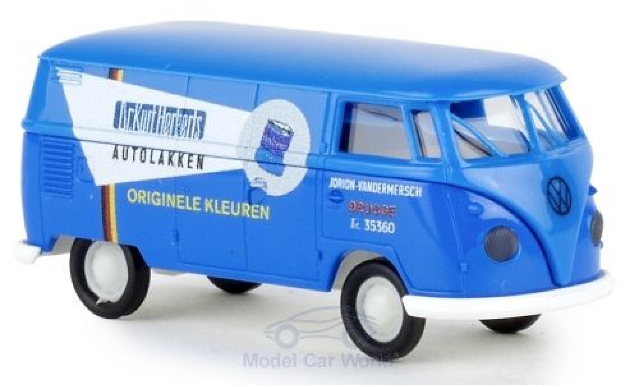 Volkswagen T1 1/87 Brekina b Kasten Dr. Herberts Autolakken
