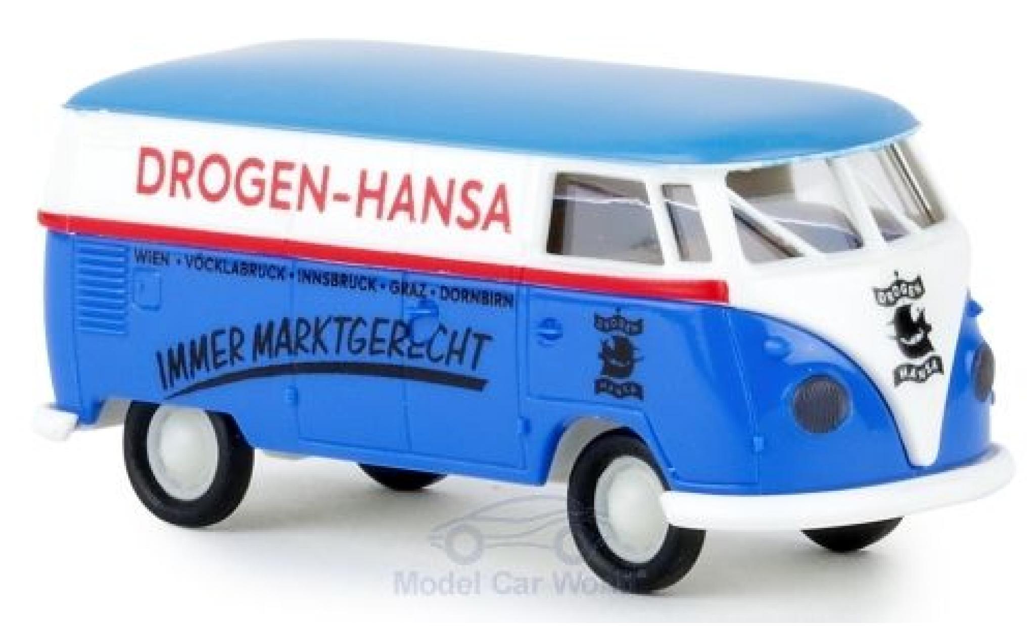 Volkswagen T1 1/87 Brekina b Kasten Drogen Hansa