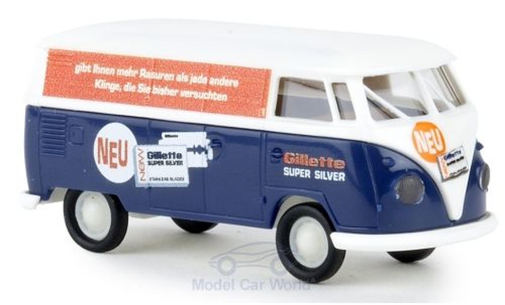 Volkswagen T1 1/87 Brekina b Kasten Gilette