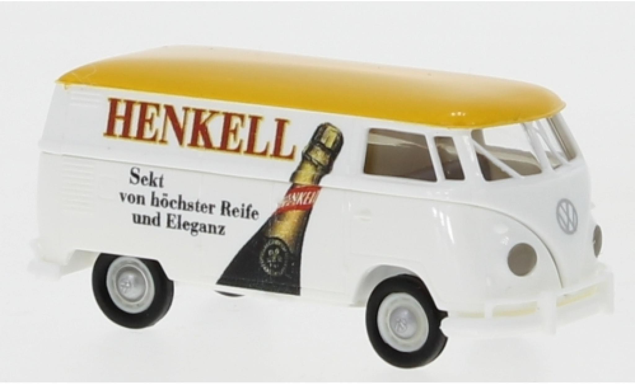 Volkswagen T1 1/87 Brekina b Kasten Henkell 1960