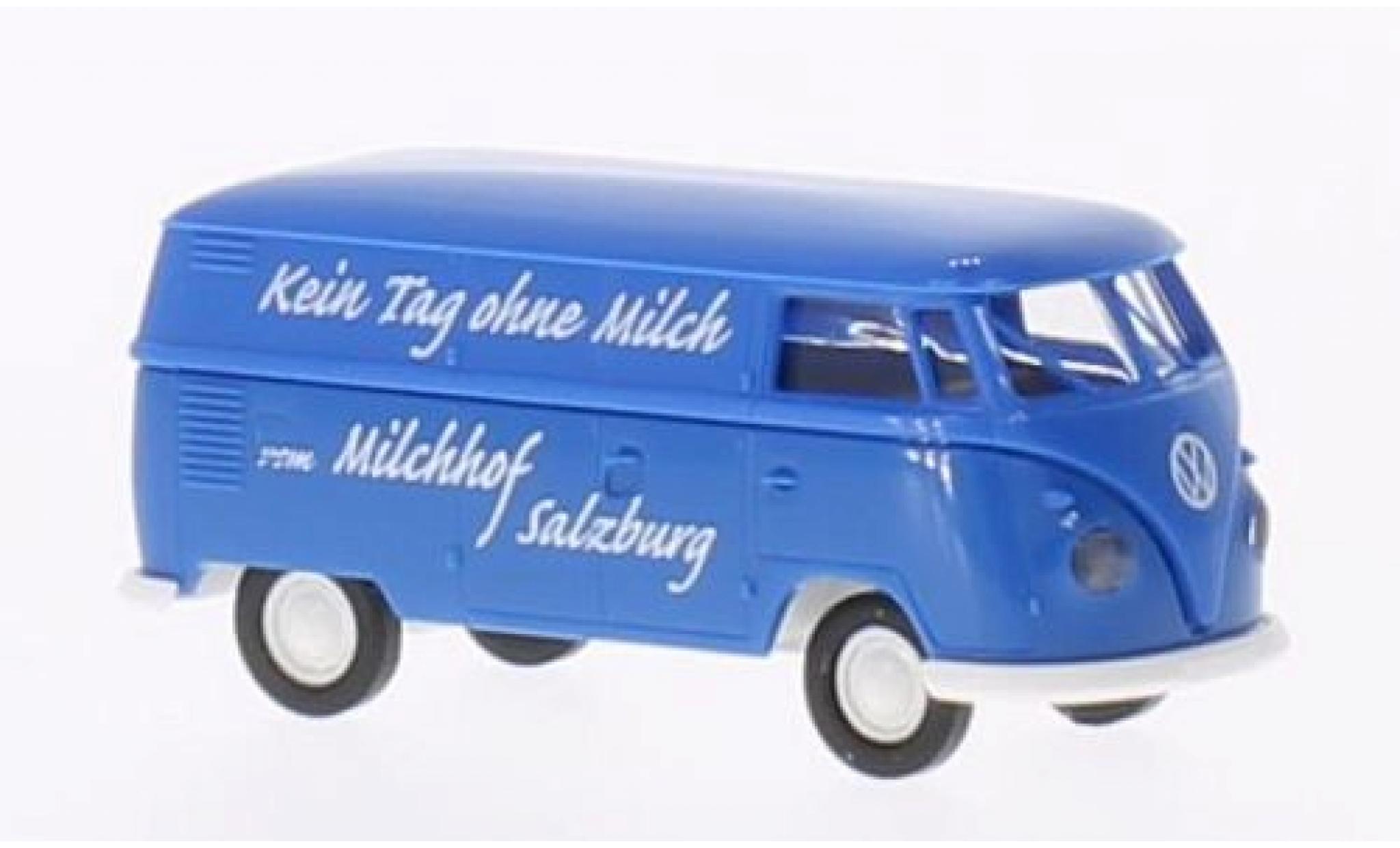 Volkswagen T1 1/87 Brekina b Kasten Milchhof Salzburg (A)
