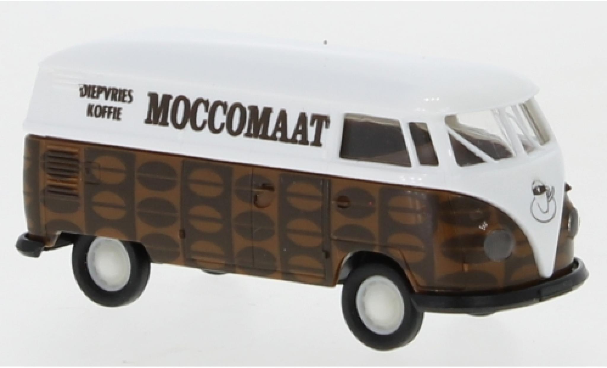 Volkswagen T1 1/87 Brekina b Kasten Moccomaat Koffie