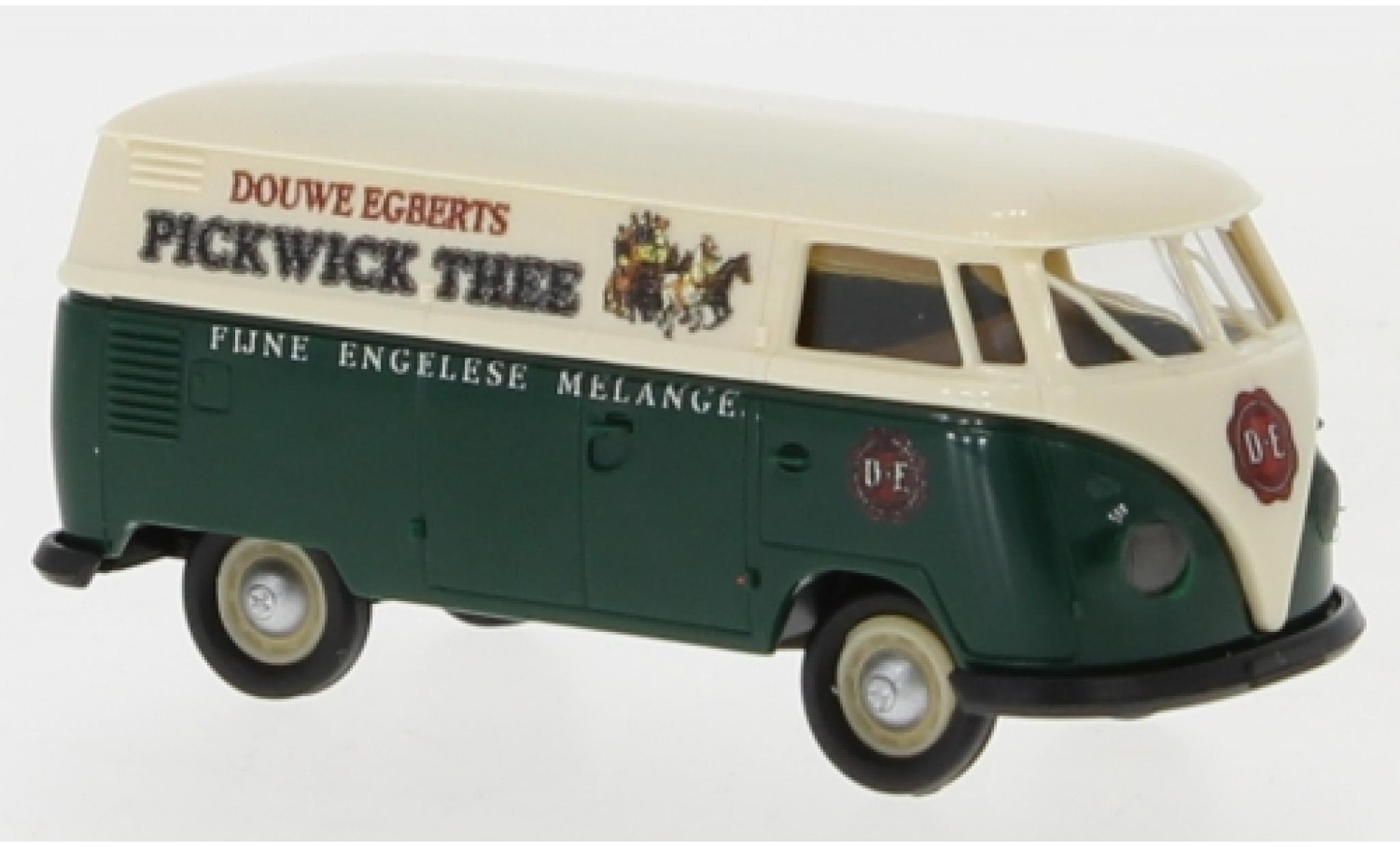 Volkswagen T1 1/87 Brekina b Kasten Pickwick Thee 1960