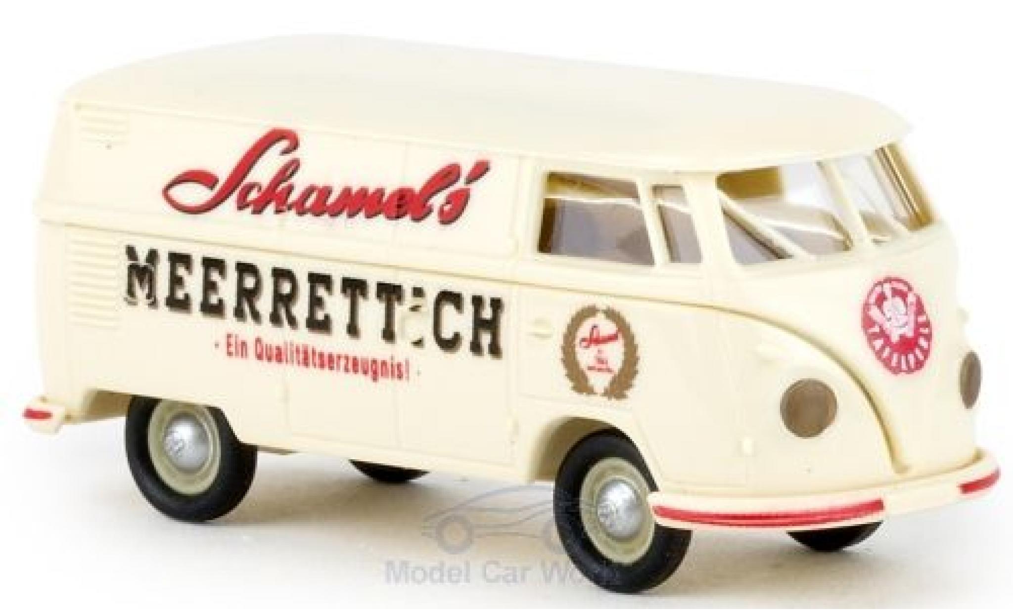 Volkswagen T1 1/87 Brekina b Kasten Schamel Meerrettich 1960