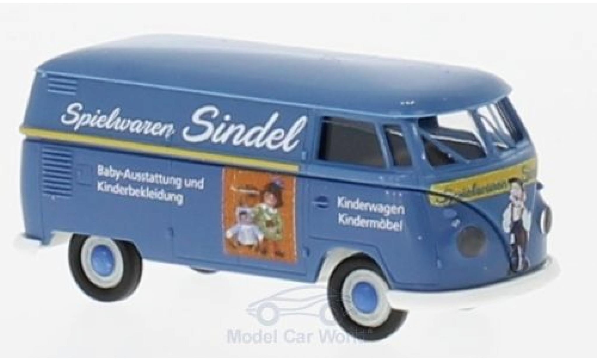 Volkswagen T1 B 1/87 Brekina b Kasten Spielwaren Sindel