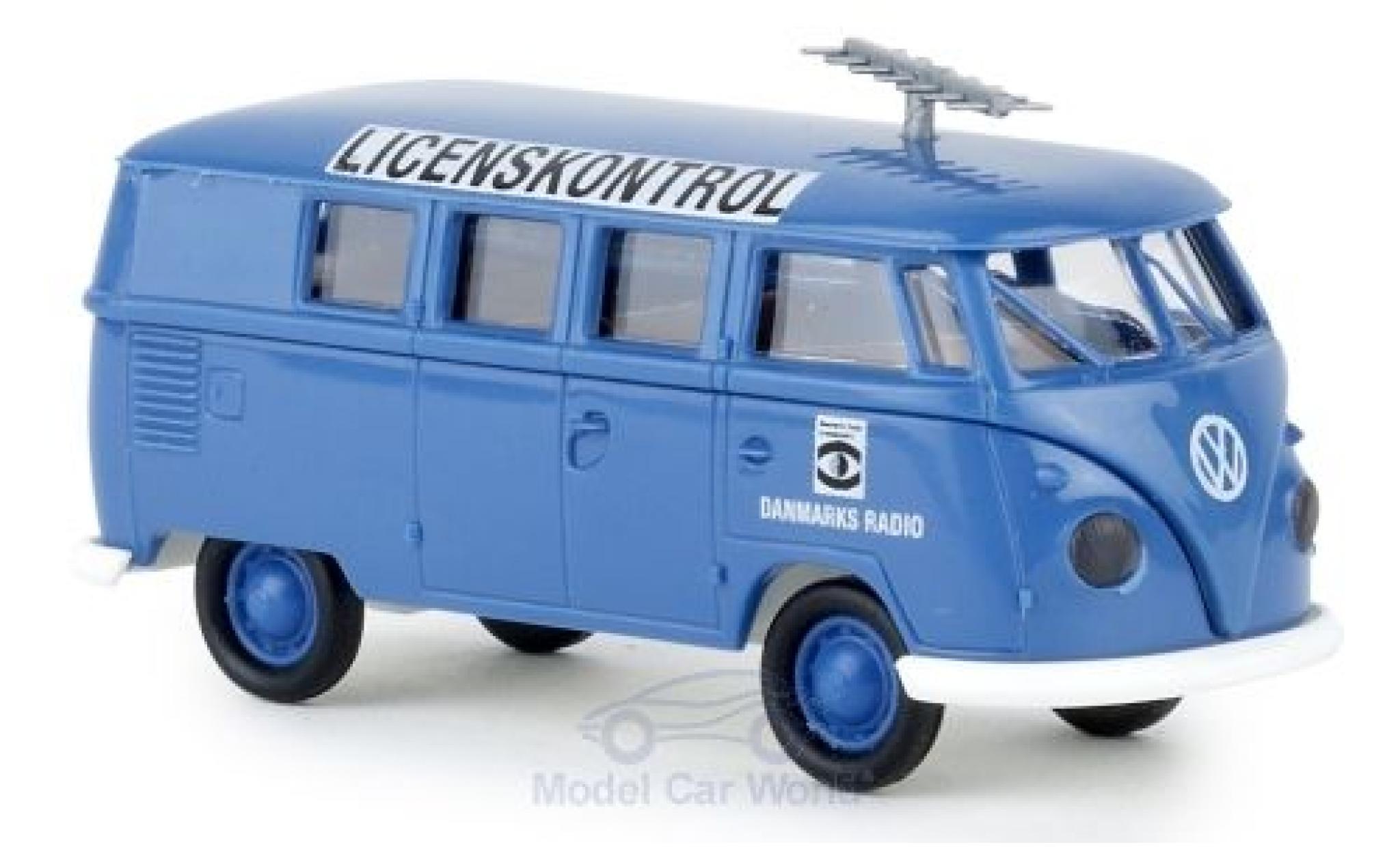 Volkswagen T1 1/87 Brekina b Kombi Danmarks Radio