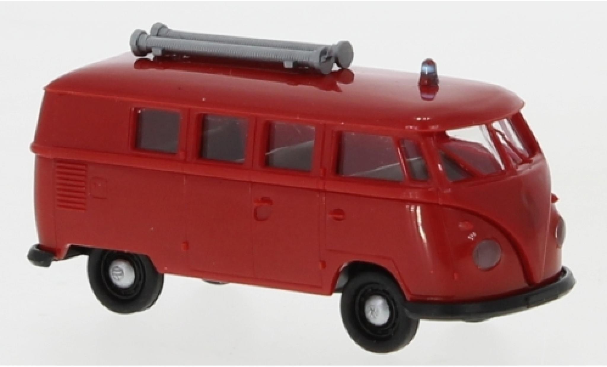 Volkswagen T1 1/87 Brekina b Kombi Feuerwehr 1960
