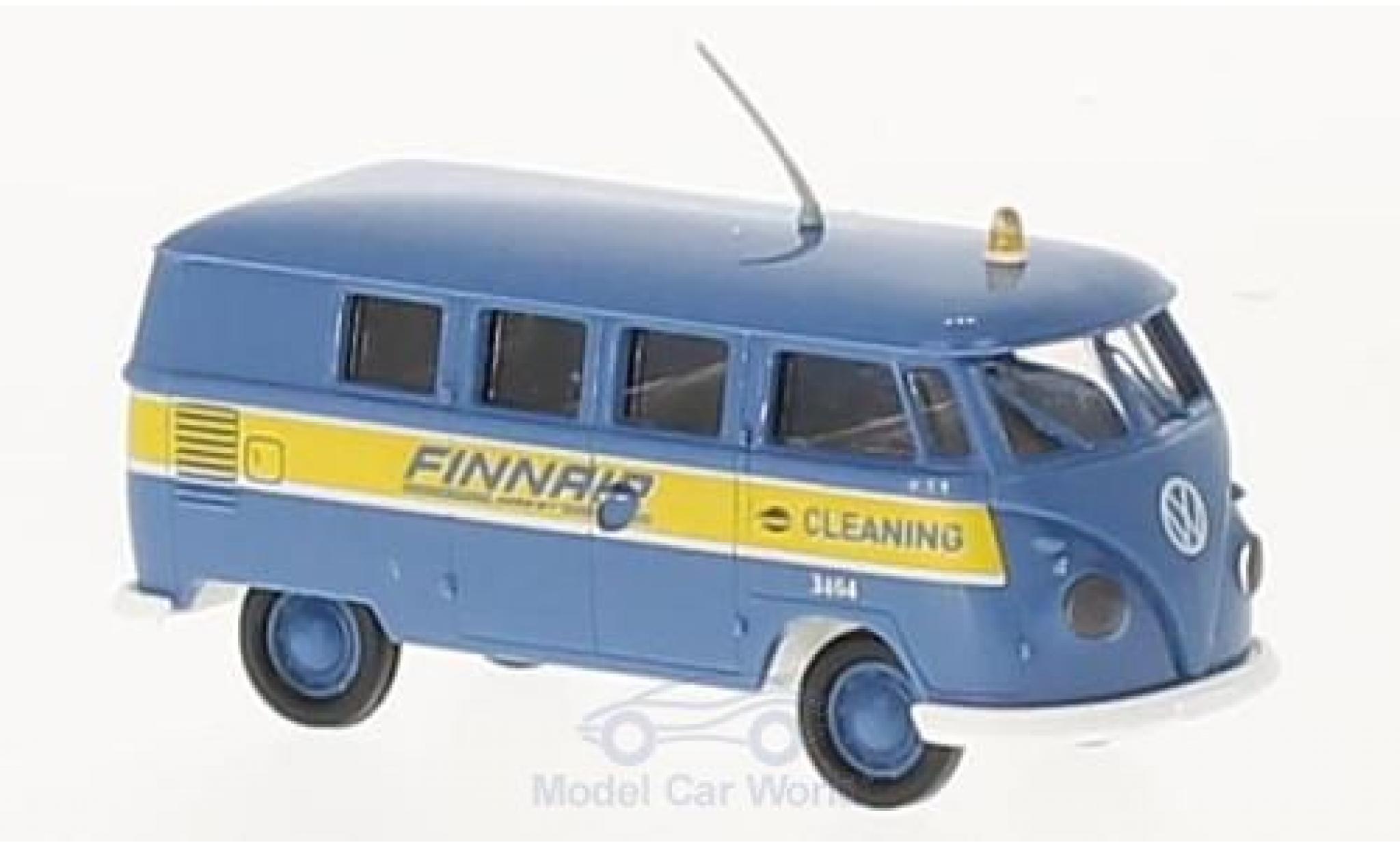 Volkswagen T1 B 1/87 Brekina b Kombi Finnair Cleaning