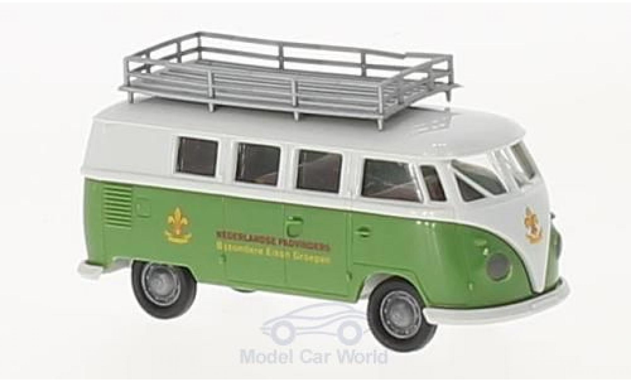 Volkswagen T1 B 1/87 Brekina b Kombi Ned. Padvinders (NL)