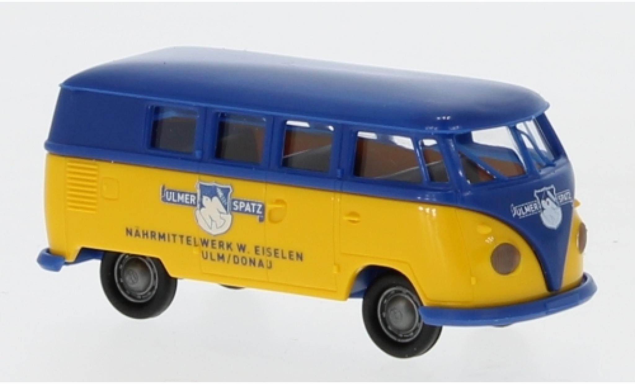 Volkswagen T1 1/87 Brekina b Kombi Ulmer Spatz 1960