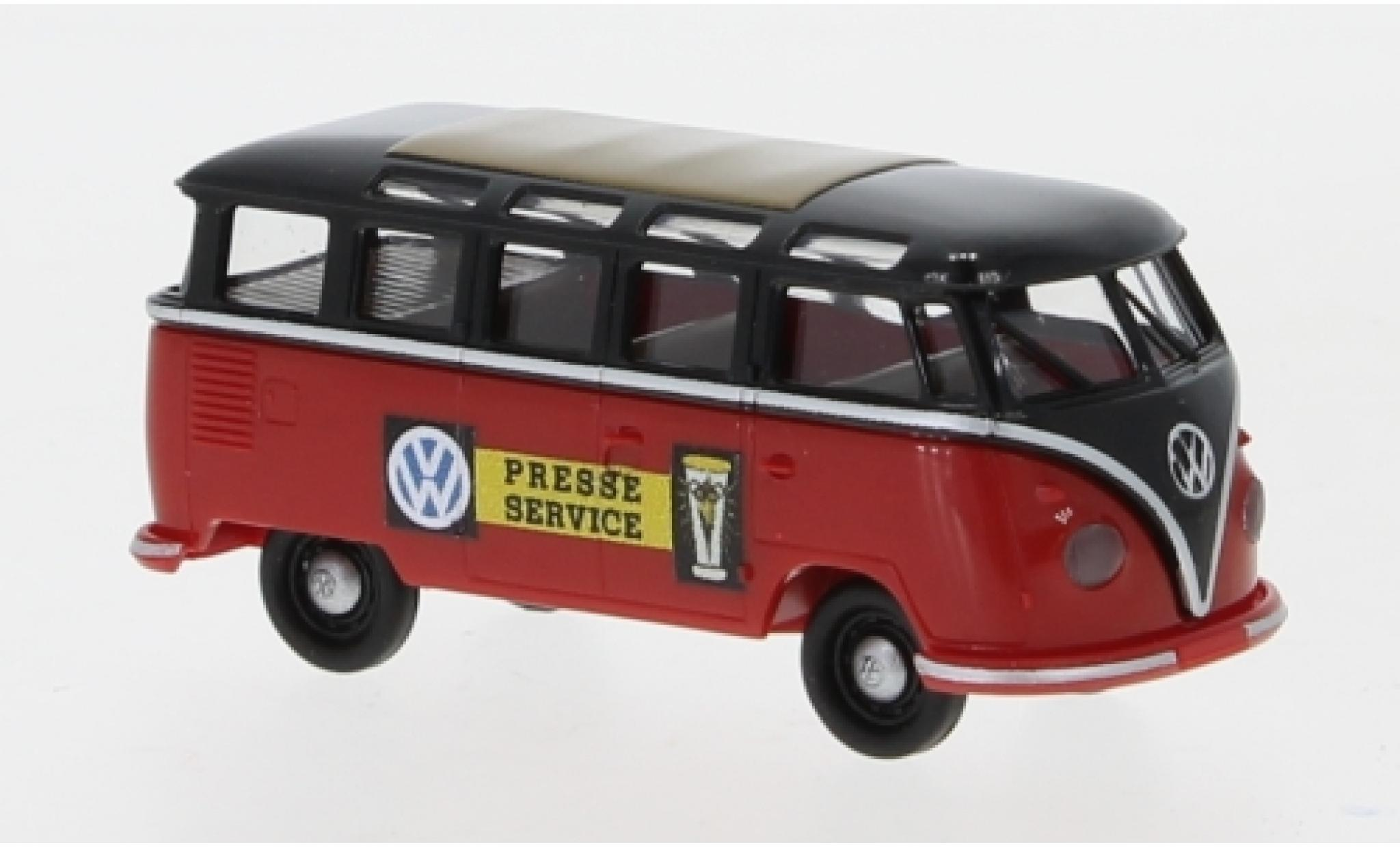 Volkswagen T1 1/87 Brekina b Samba Presseservice 1960